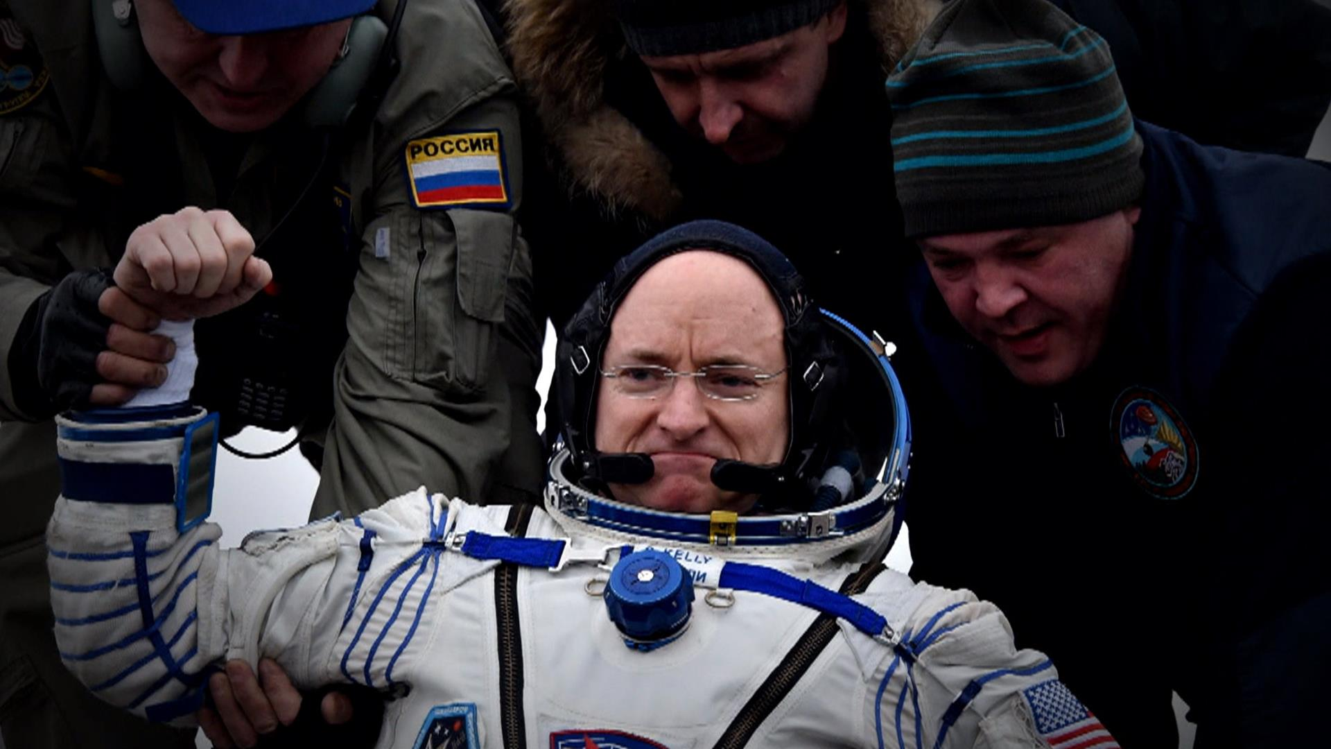 NASA's Scott Kelly Grew 2 Inches: The Body After a Year in Space