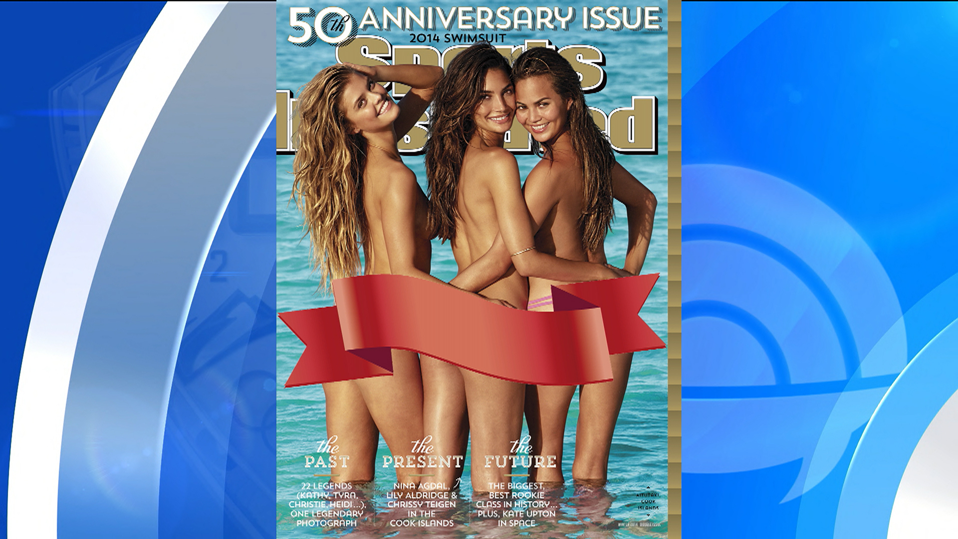 triple threat 3 models grace 50th anniversary sports illustrated swimsuit cover