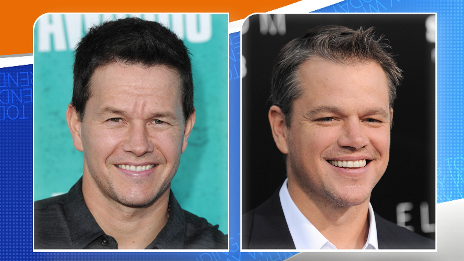 Mark Wahlberg Gets Mistaken For Matt Damon