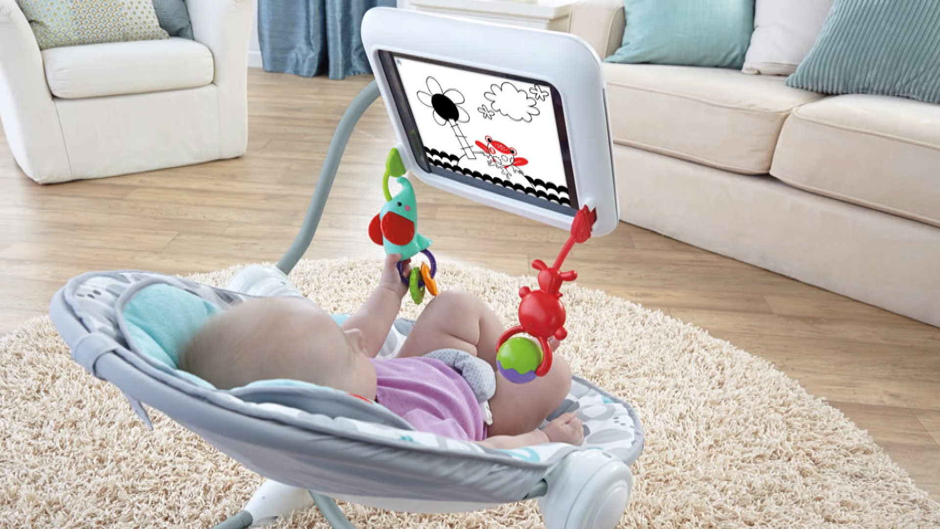 Too much tech? iPad bouncy seat makes some parents fuss - NBC News