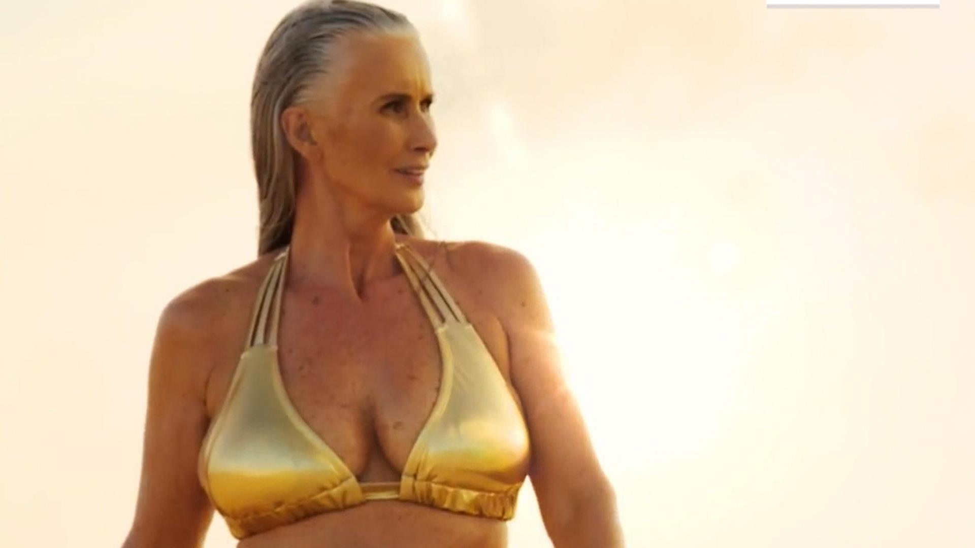 sports illustrated features 56-year-old model in annual swimsuit issue
