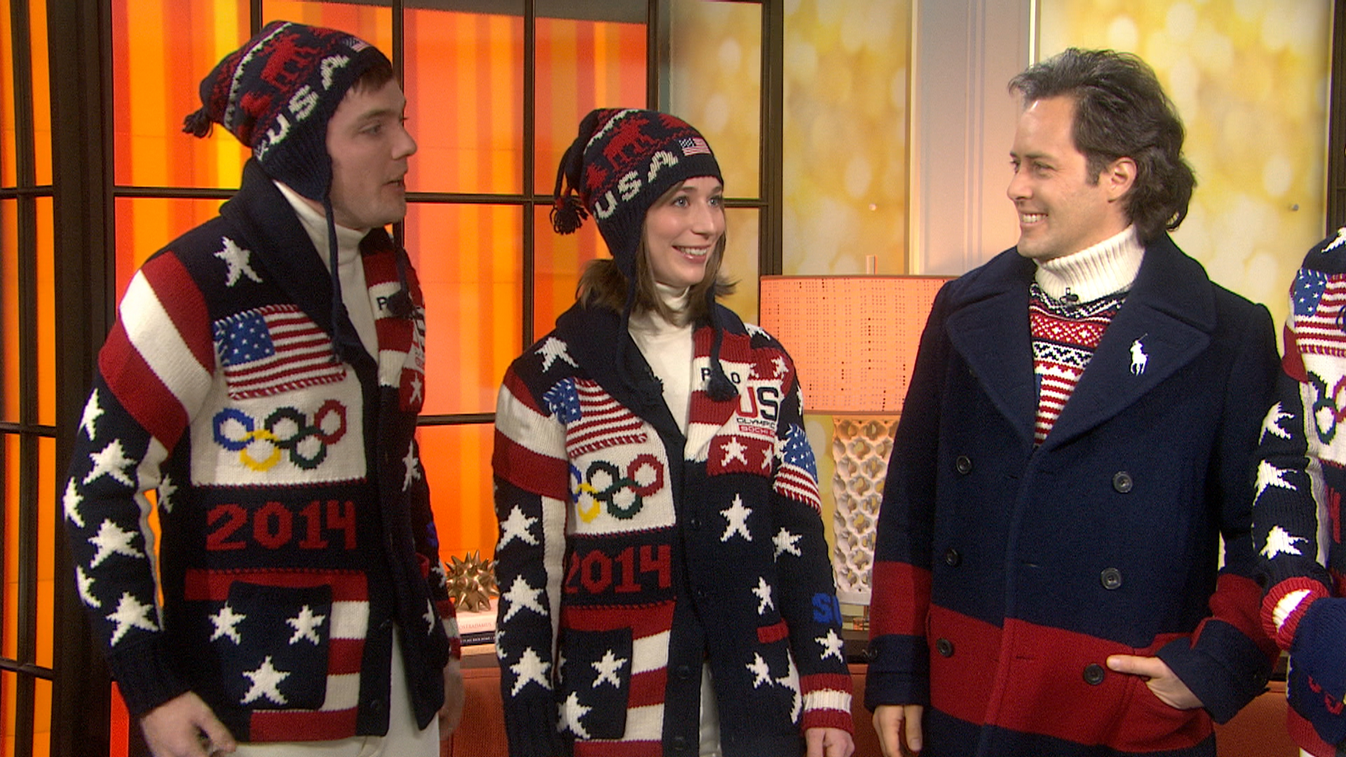 Patriotic style: Team USA reveals Olympic Opening Ceremony ...