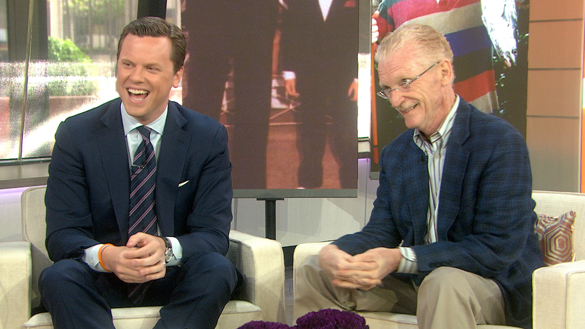 Good Talk, Dad': Willie and Bill Geist tackle the big father-son