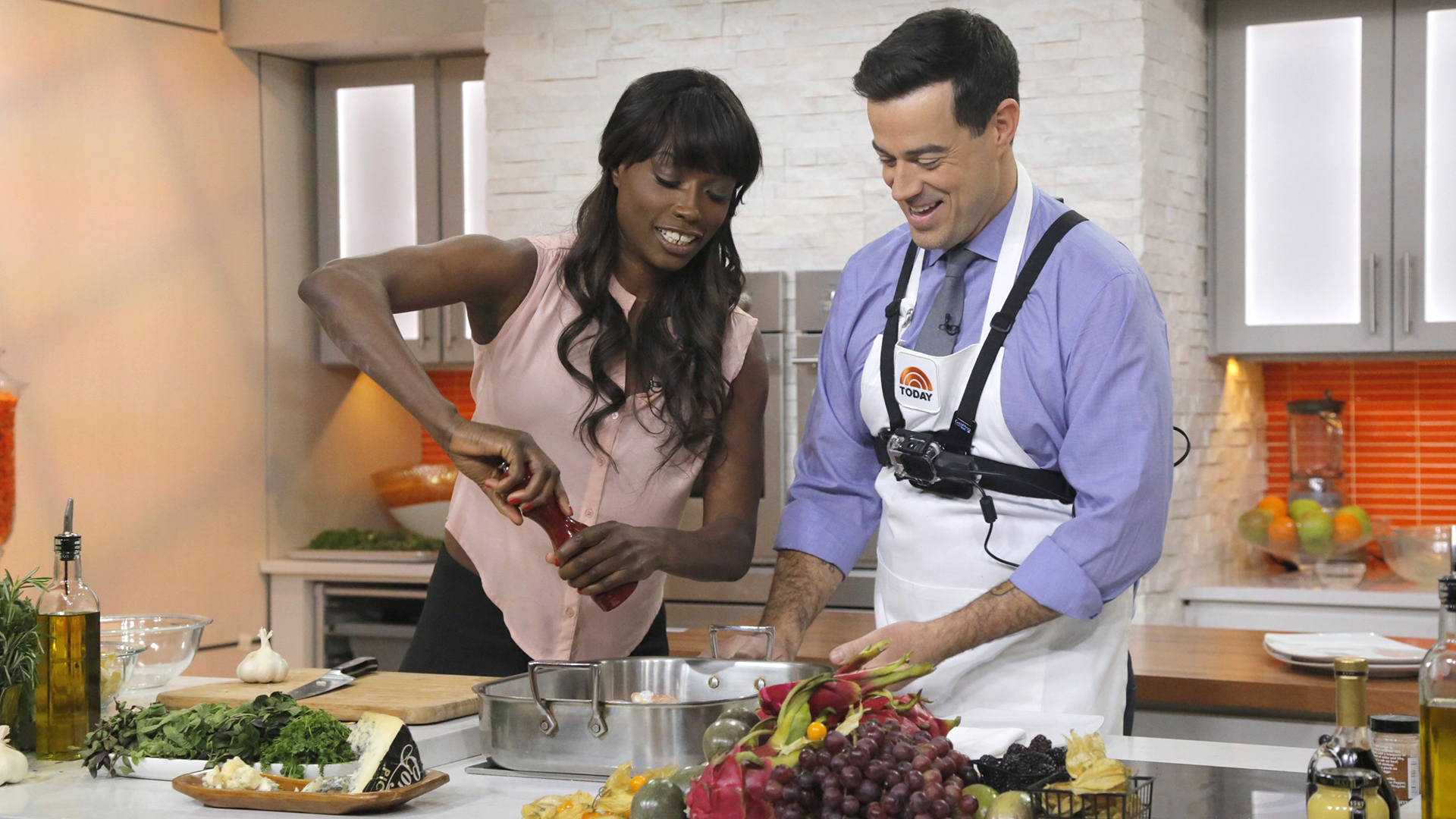 Full Demo Lorraine Pascale Makes A Healthy 3 Course Meal Today Com