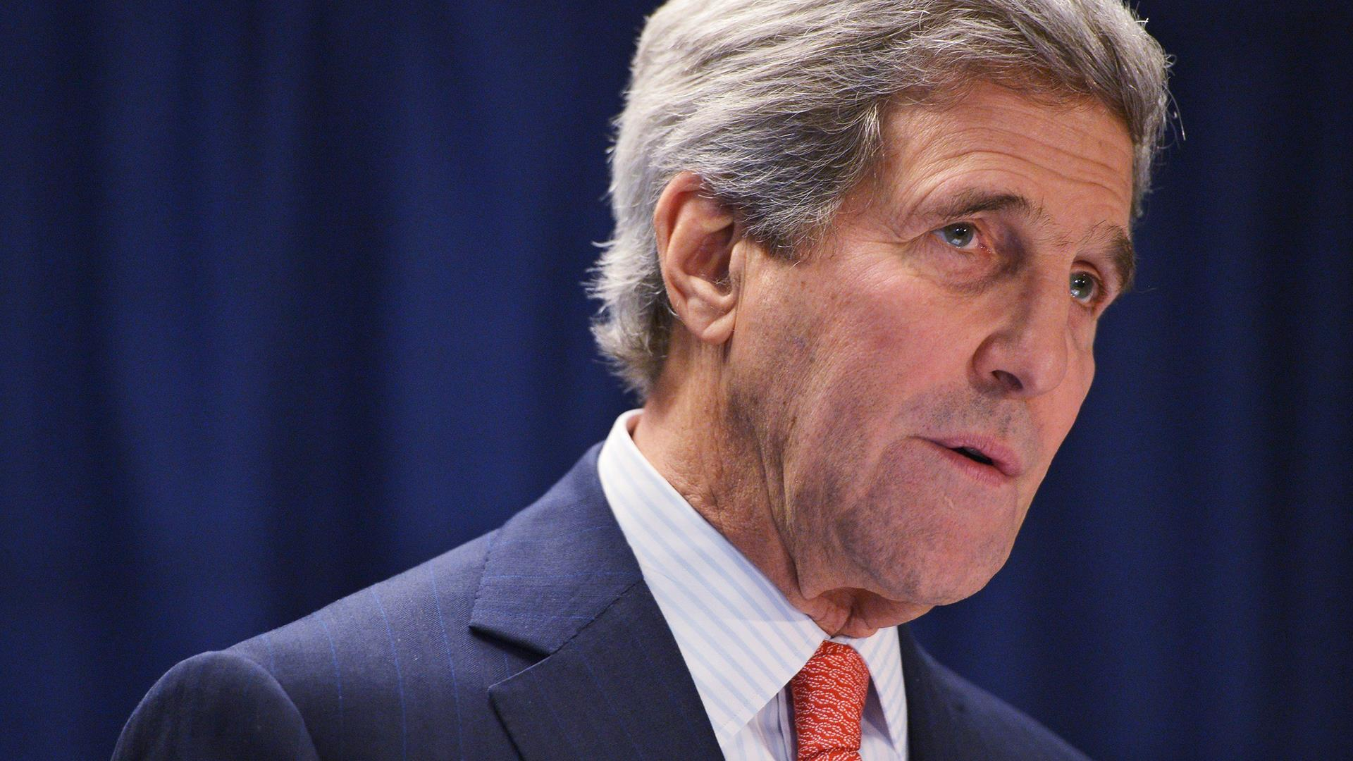 LIVE VIDEO: Sec. Kerry speaks at U.S....