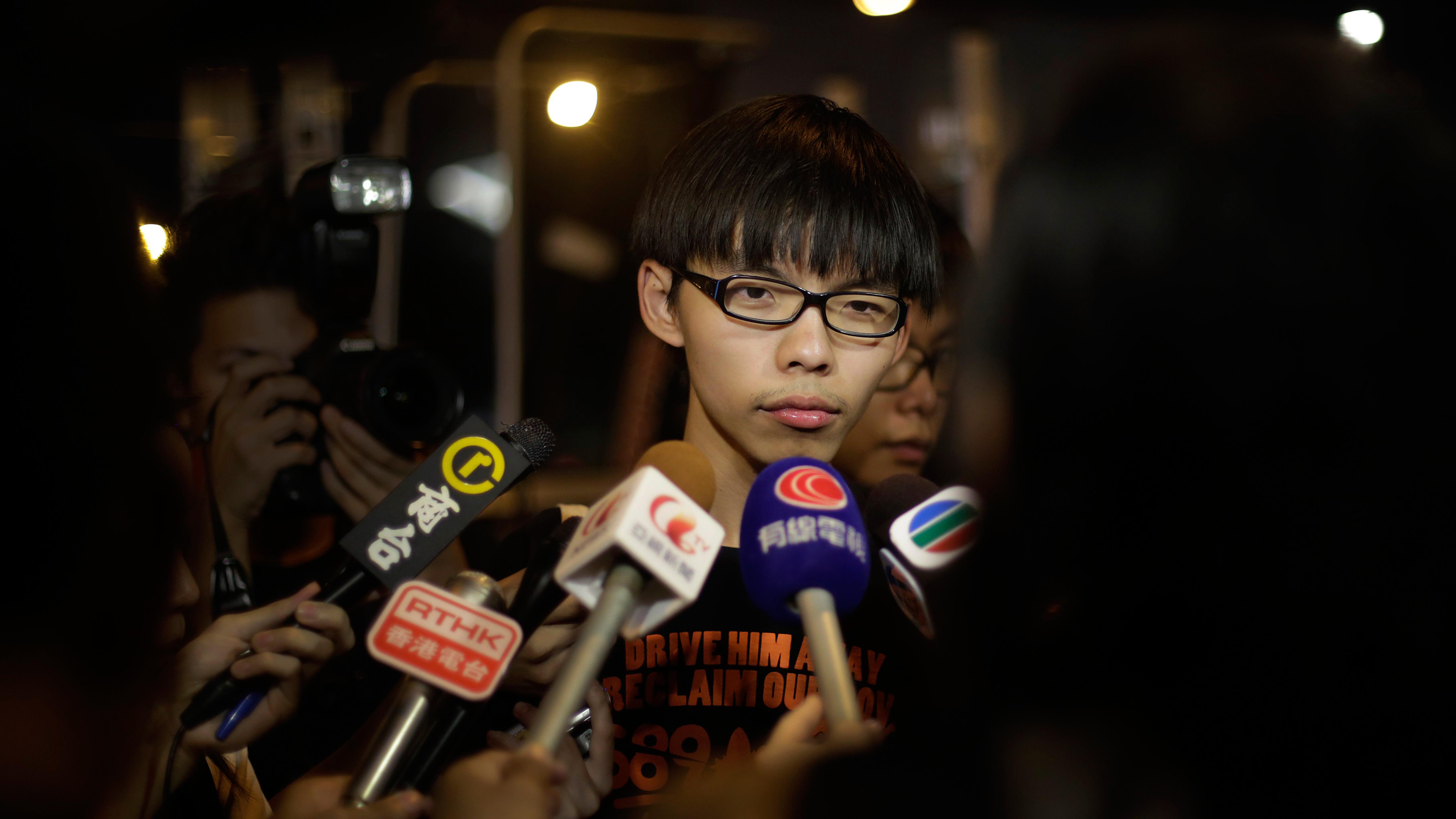 Hong Kong Leader Leung: Zero Chance' Beijing Will Change Plan