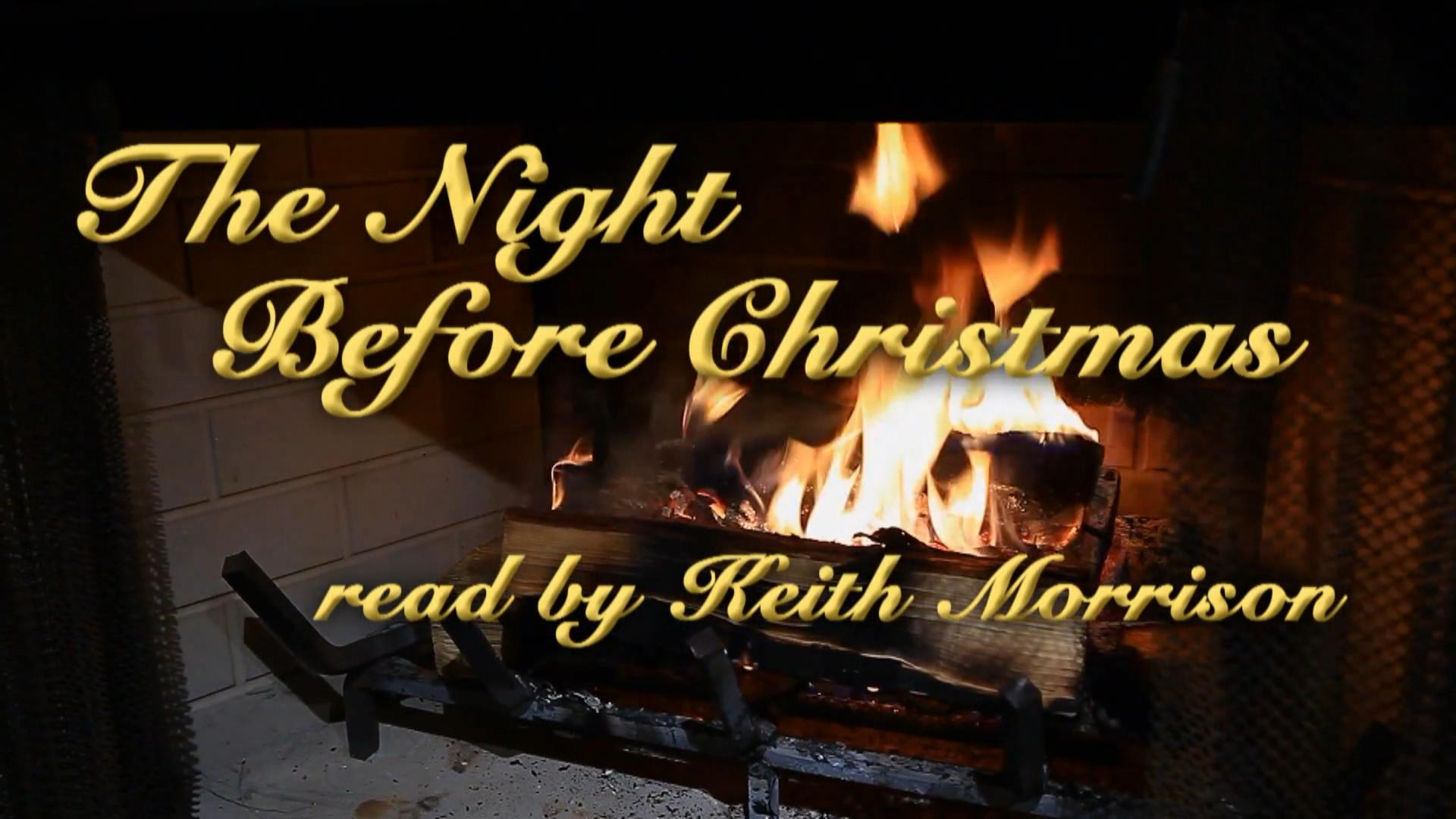 keith morrison reads the night before christmas