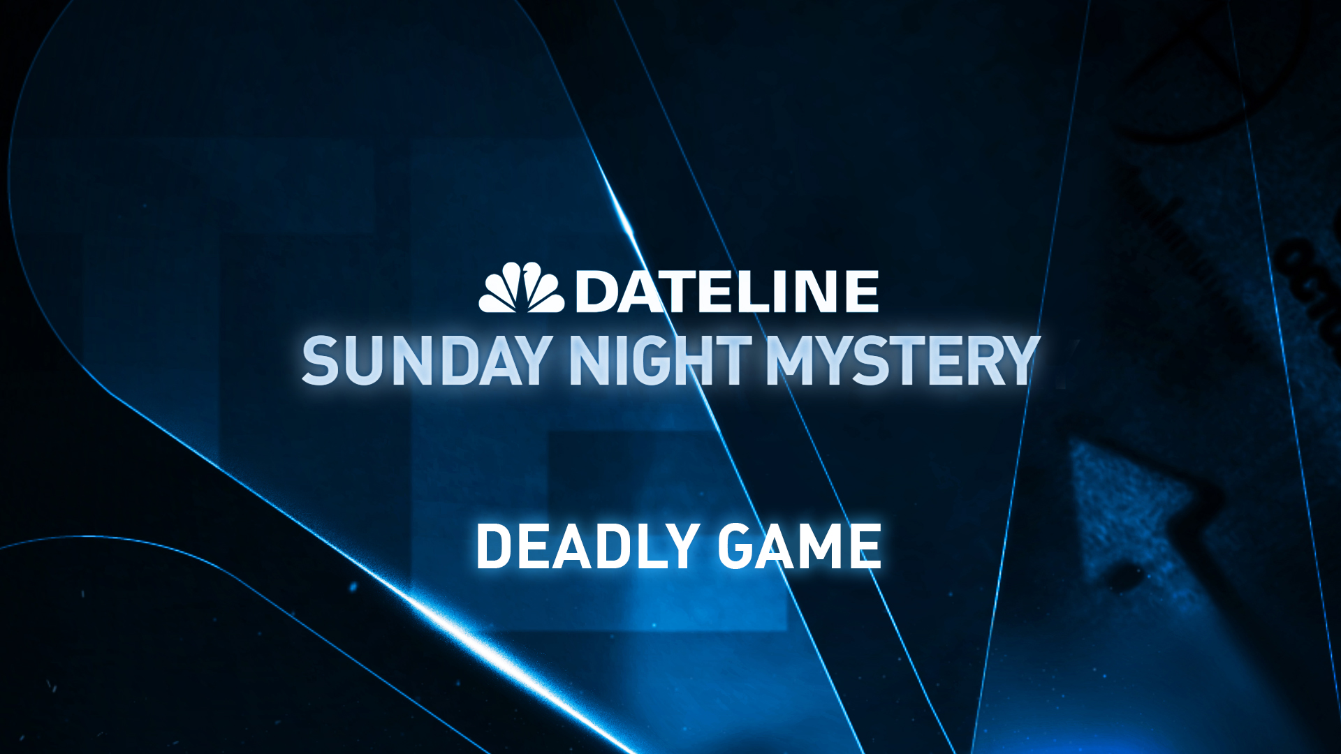 PREVIEW Sunday Night Mystery: Deadly Game - NBC News