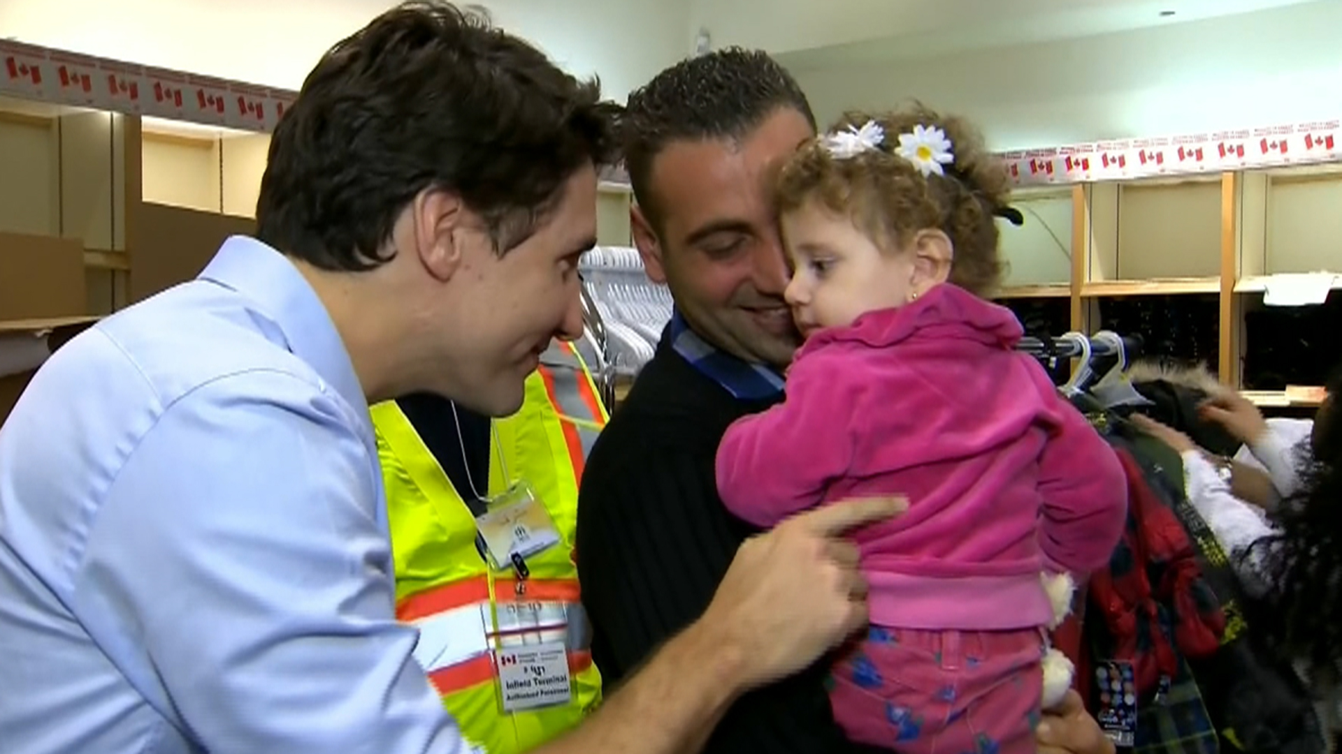 'You Are Safe at Home Now': Canadian PM Trudeau Welcomes Syrian Refugees - NBC News