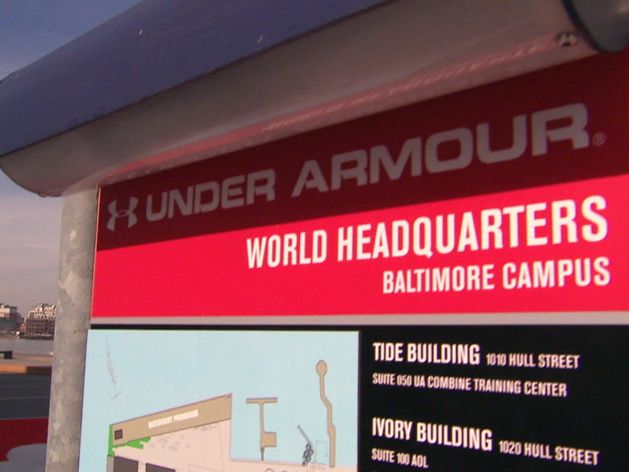 Under Armour Campus Map.Inside The Headquarters Of Under Armour