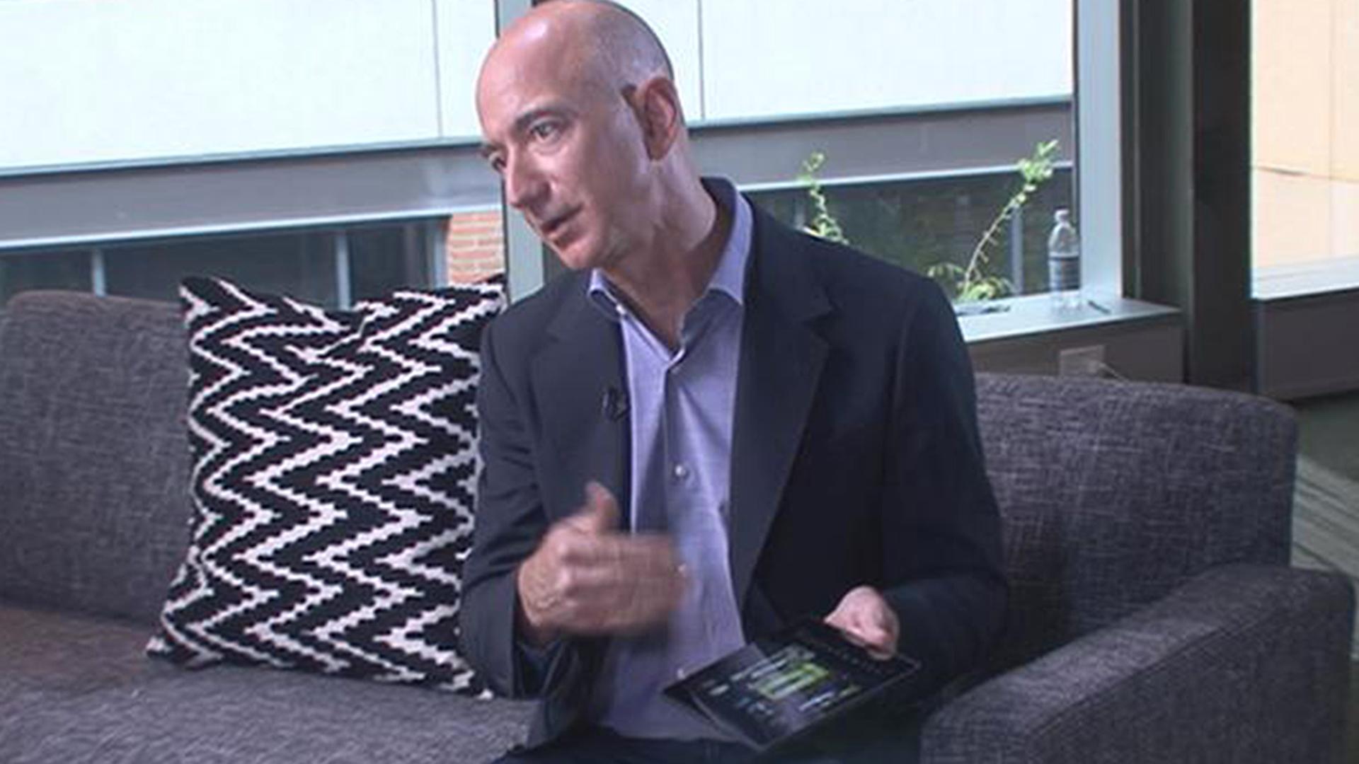 Nbc S Kate Snow Interviews Jeff Bezos