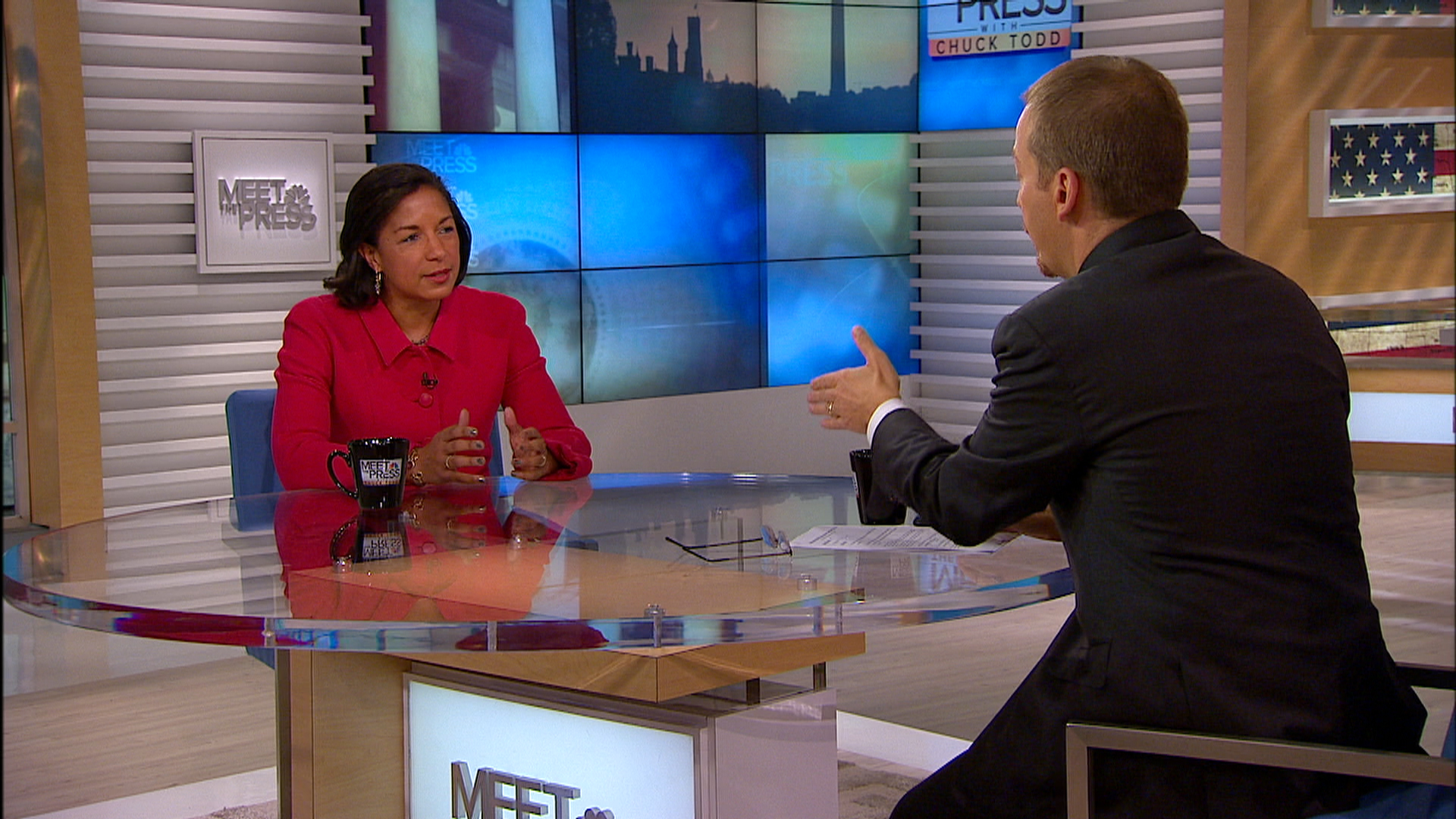 Susan Rice: The World Has Not Done Enough to Contain Ebola