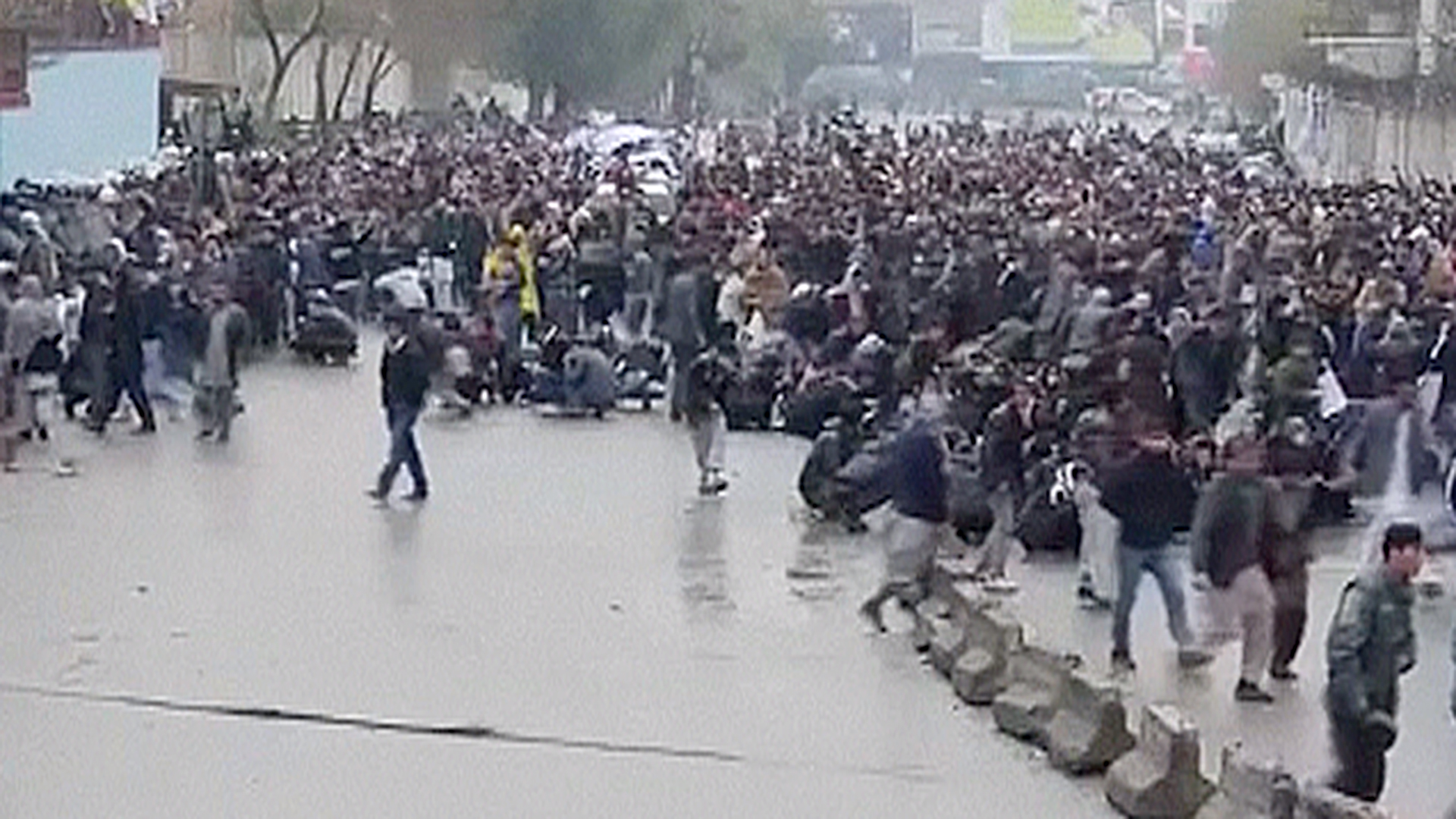 Gunfire Erupts at Hazara Protest in Afghanistan Causing Panic