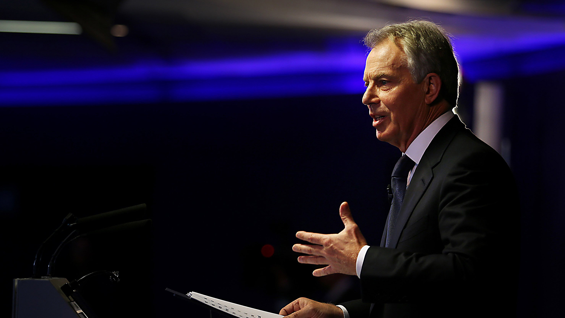 speech by tony blair Tony blair's big speech on the middle east is dishonest and misleading is he trying to clean up his own record of foreign policy failure in iraq and afghanistan.