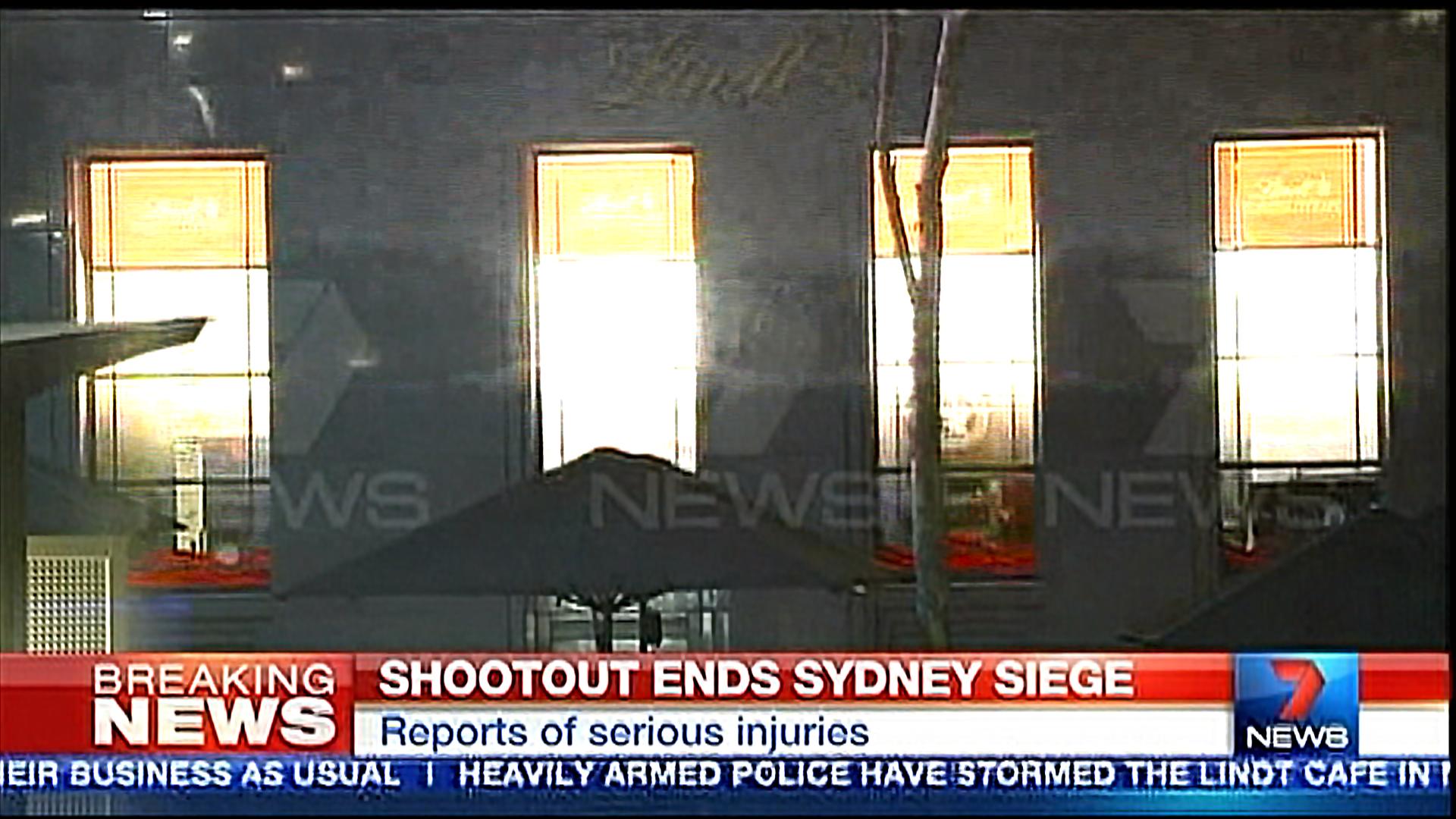 Sydney Siege Ends: Police Storm Cafe Where Man Haron Monis Held Hostages