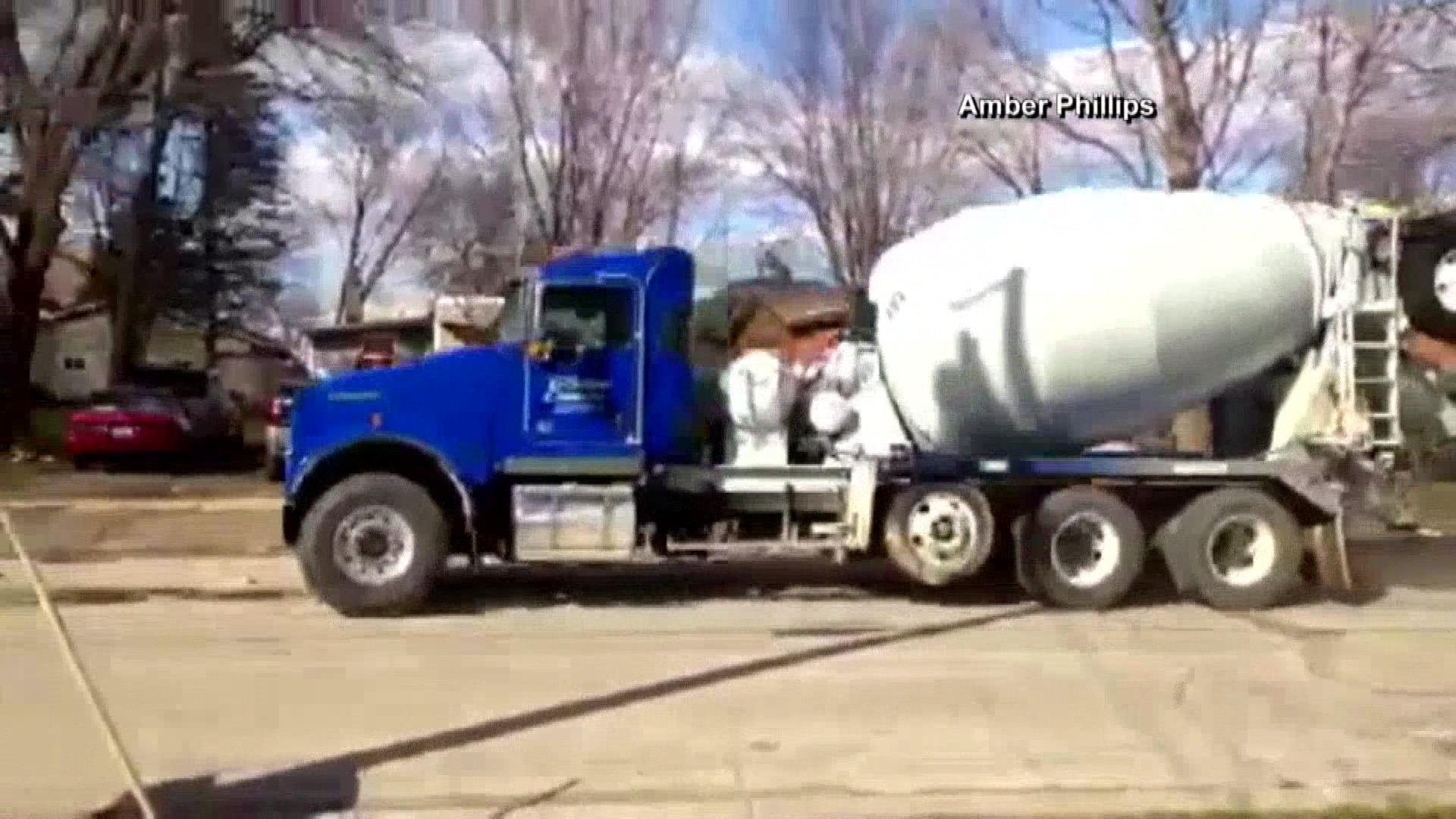 kid takes cement truck for a joyride nbc news