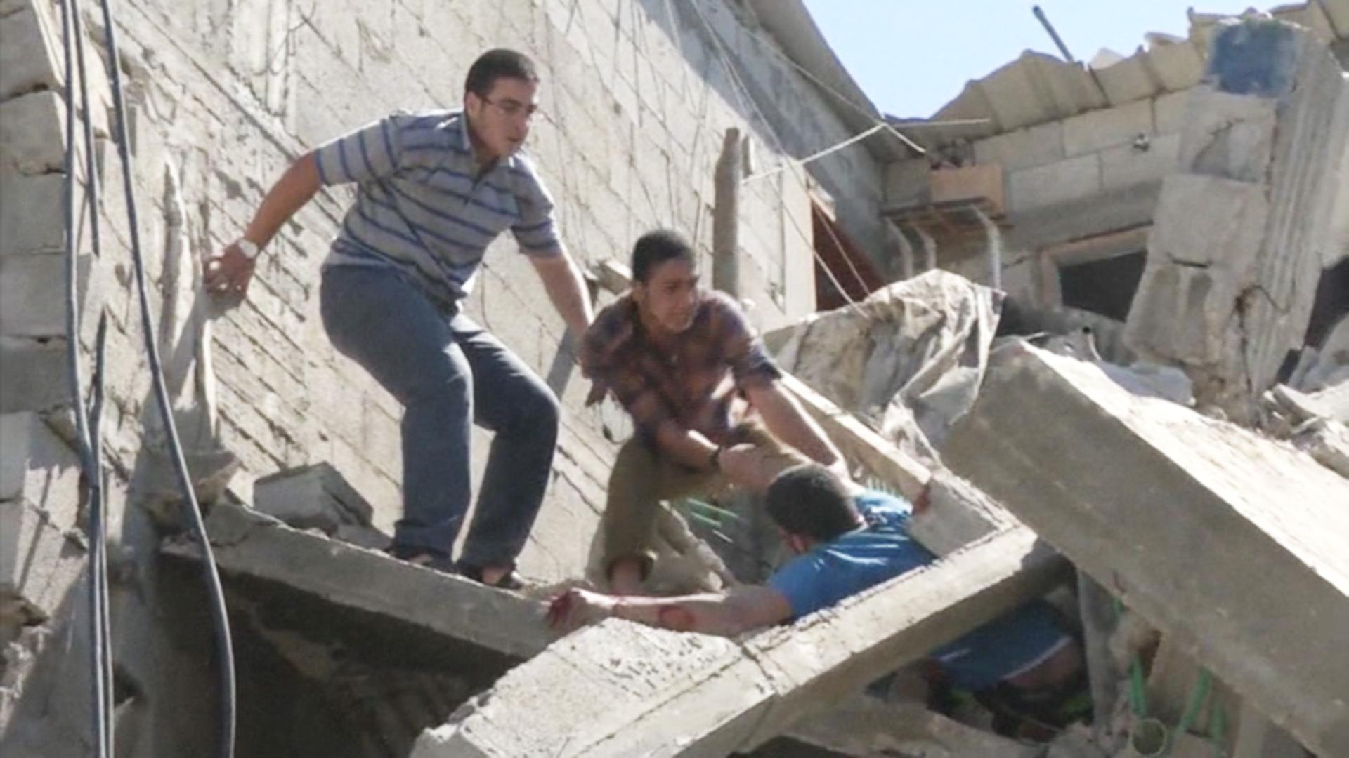 Mayhem As Israeli Airstrikes Hit Gaza