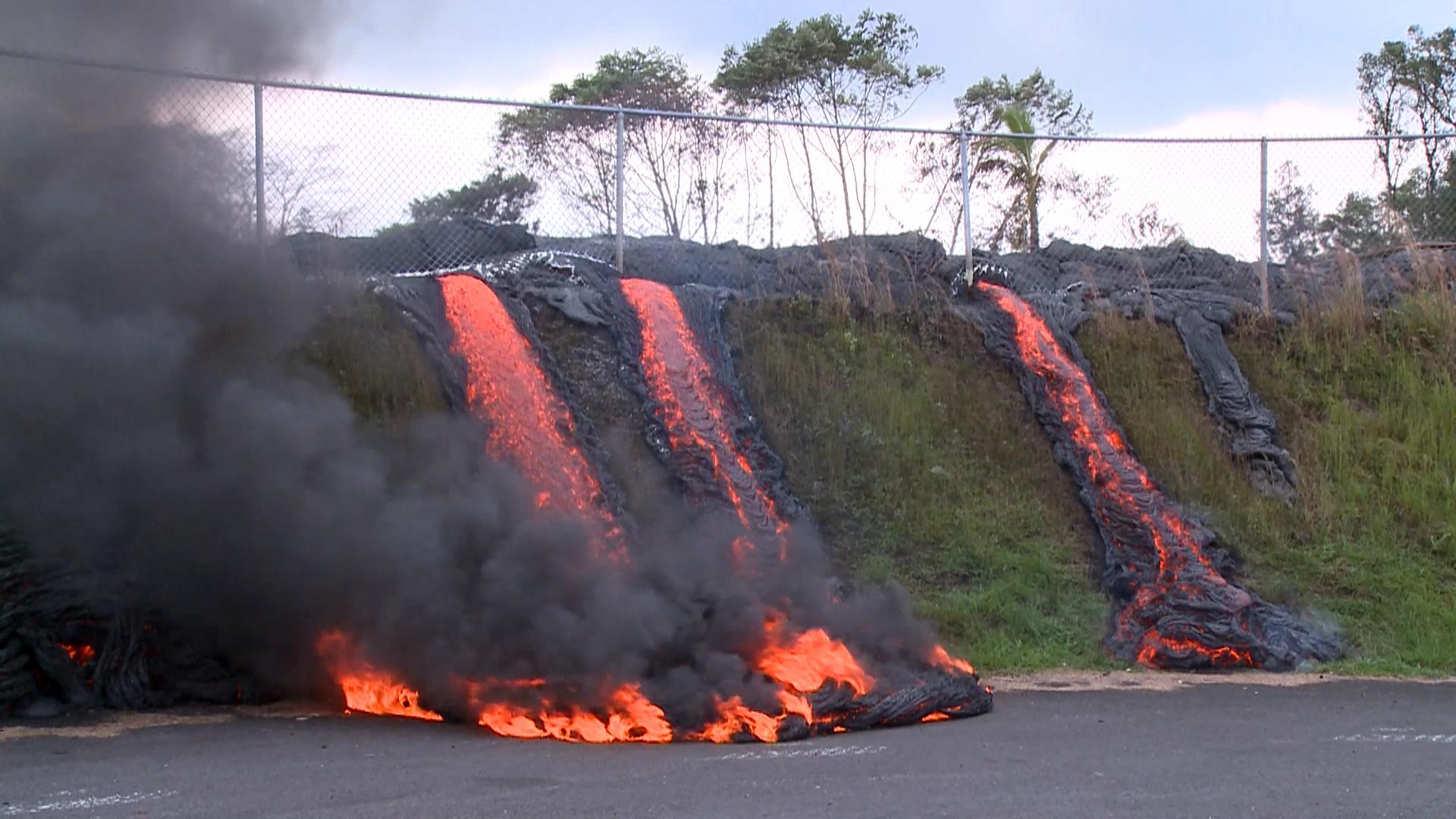 Hawaii Lava Flow Closes In On Pahoa Transfer Station Nbc