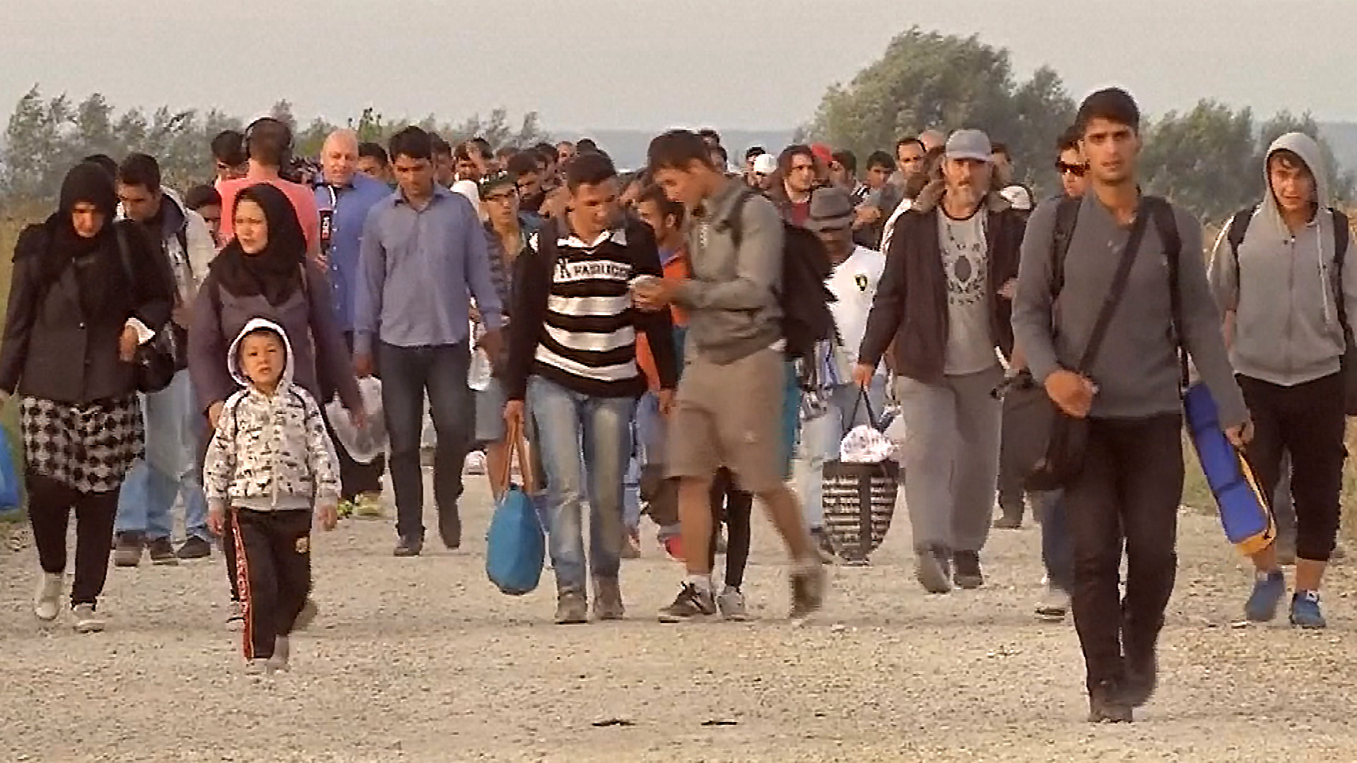 Migrants in Europe Face Minefield 'Danger' in Croatia