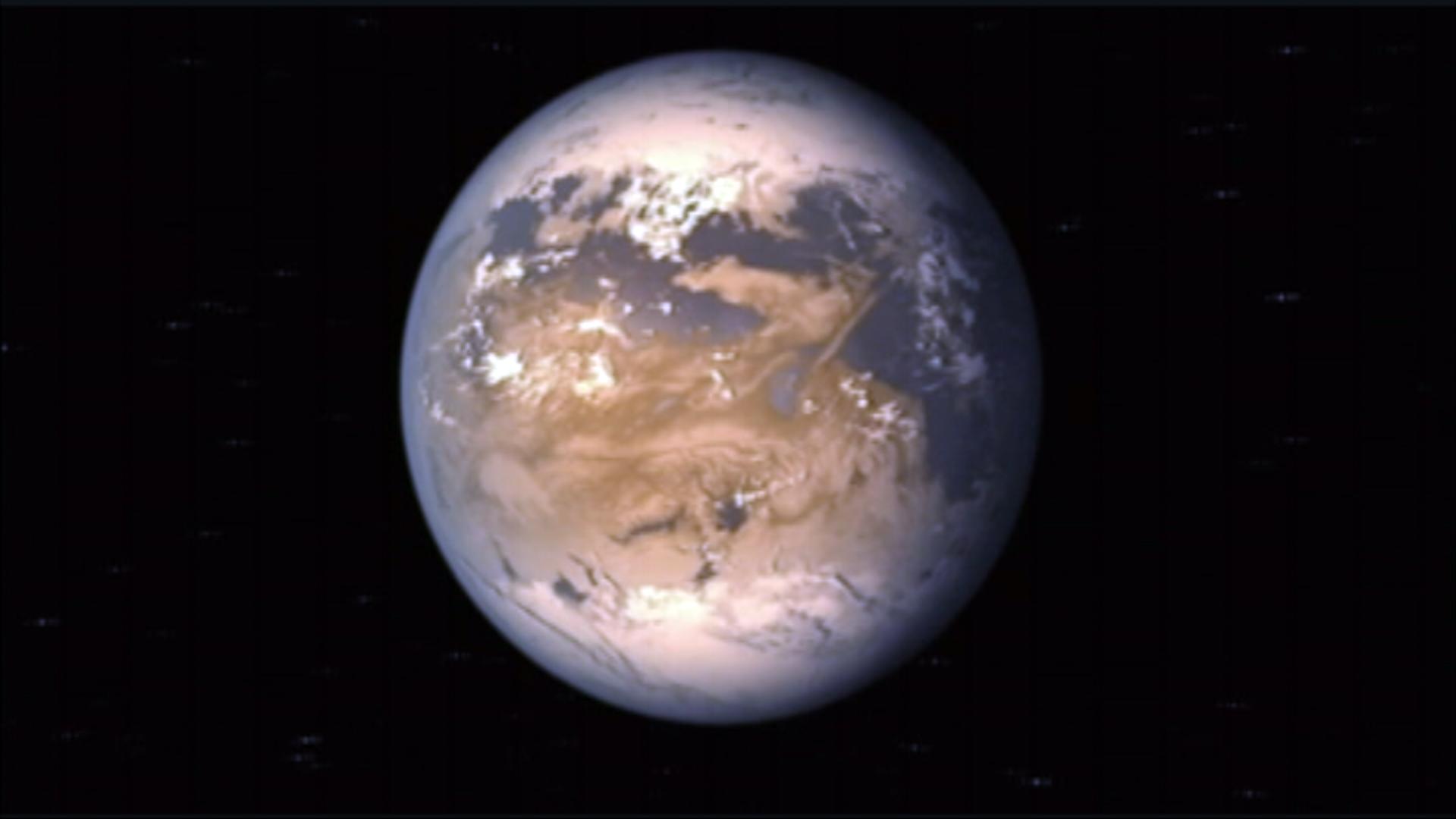 Earth S Cousin Planet on Planet Kepler 186f