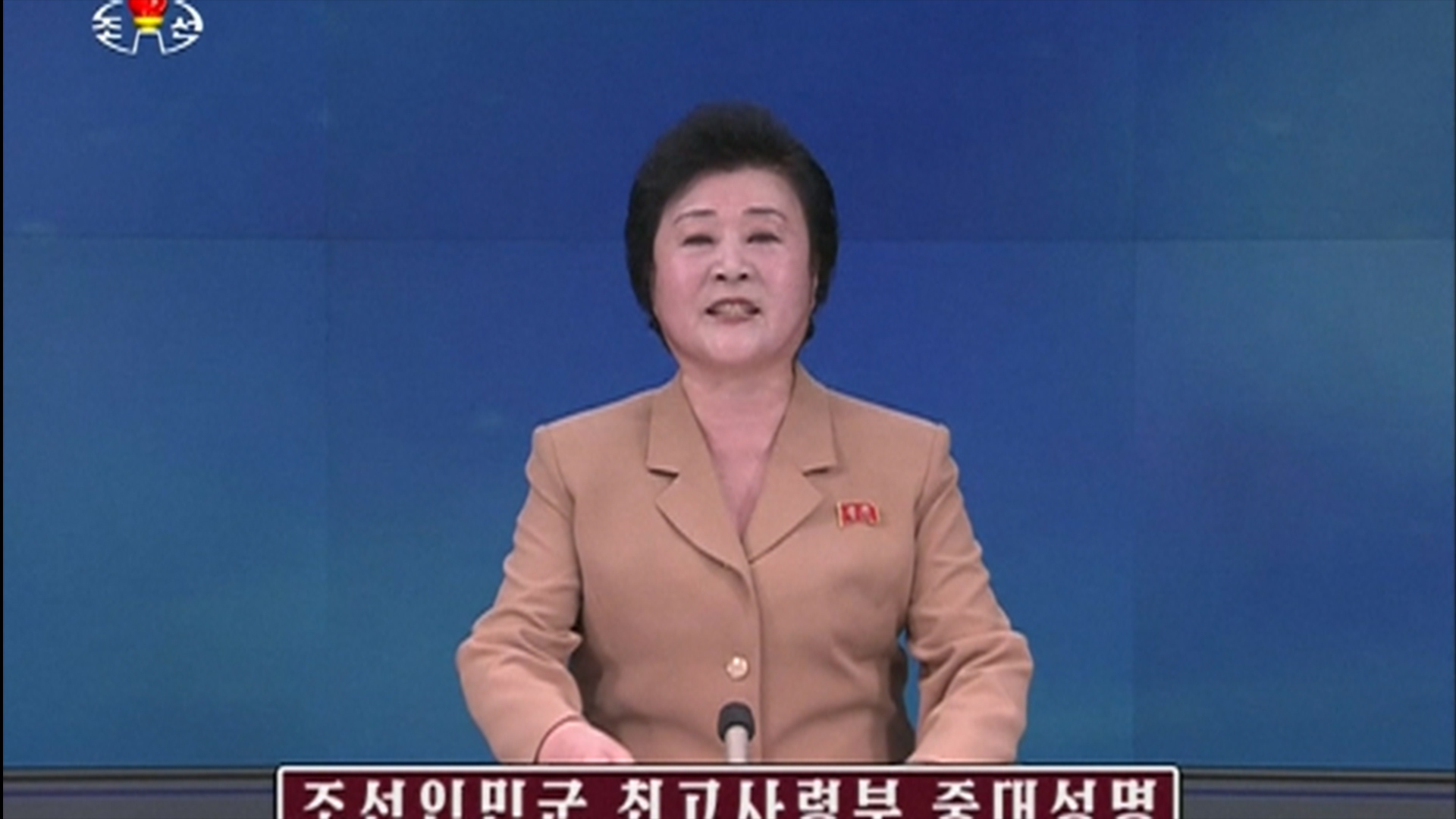 North Korea Threatens U.S. with Military Action