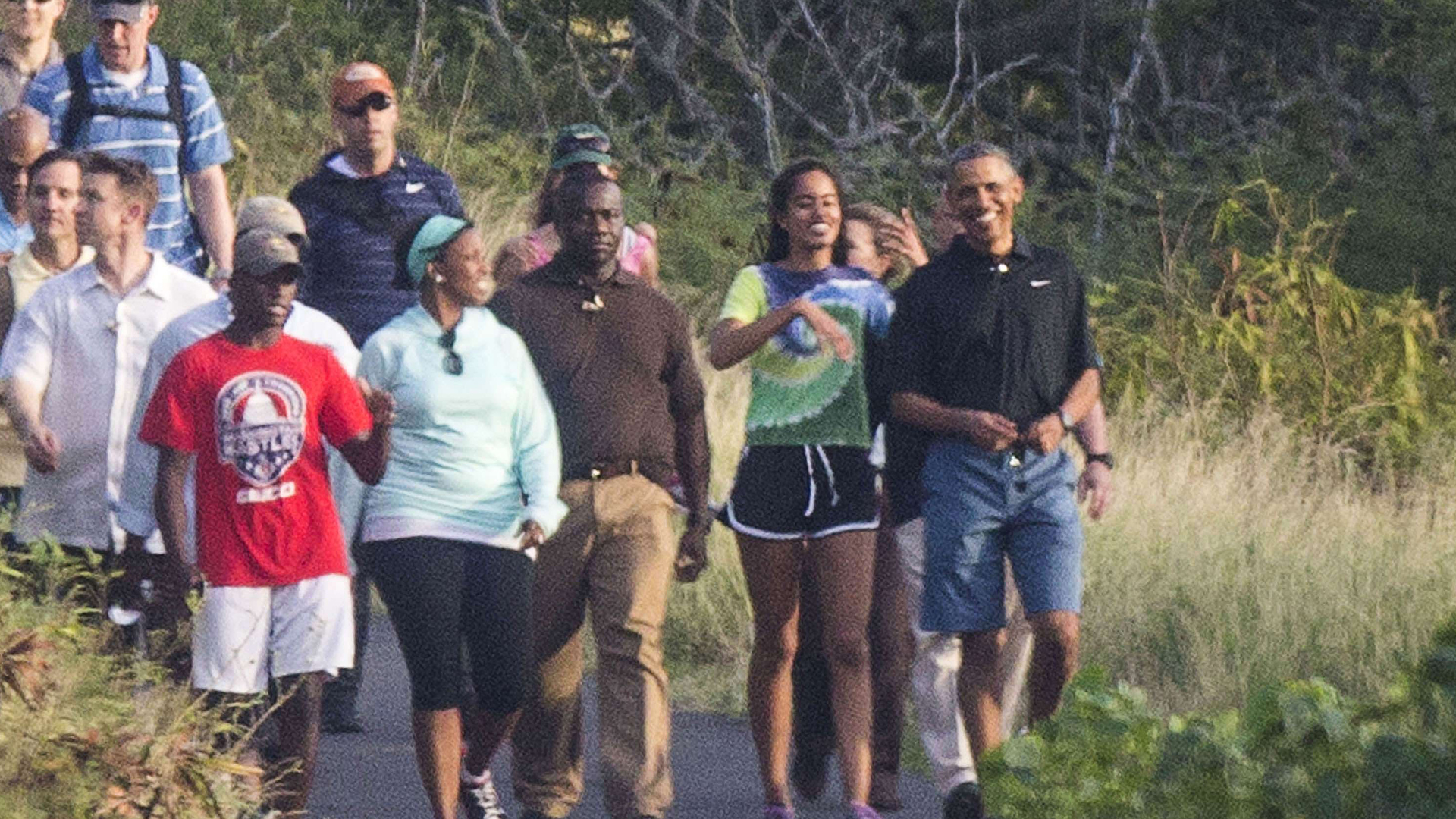 president obama goes hiking with malia in hawaii nbc news