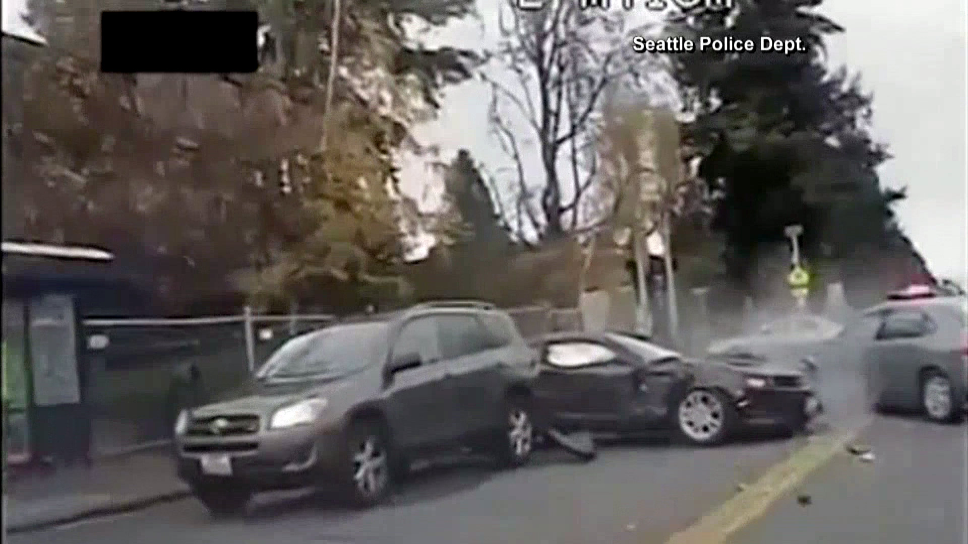 Amazing Video of Seattle Police Chase That Ended in Fatal Shooting