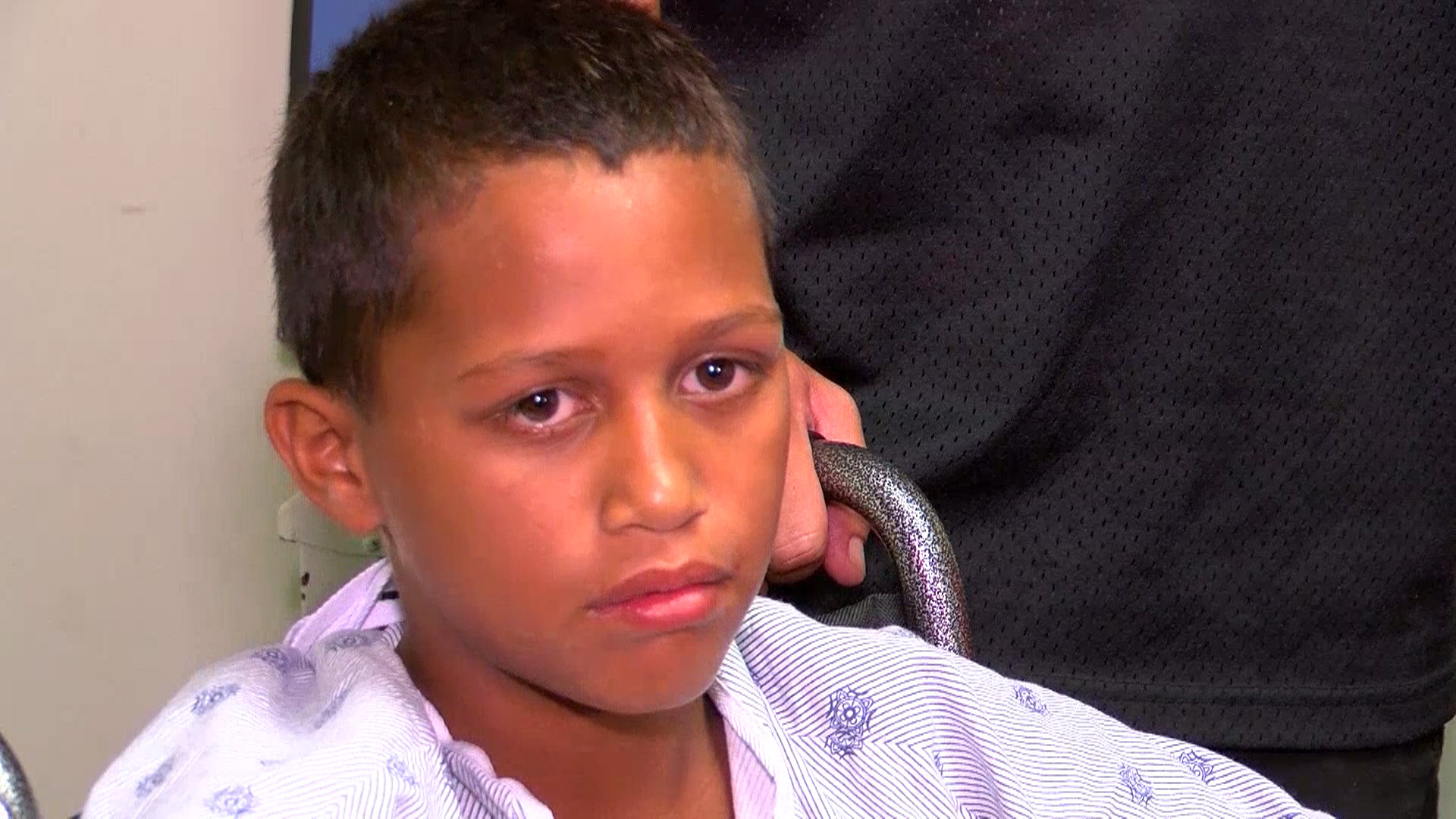 Raymond Senensi, Boy Attacked by Shark: 'I Just Started Kicking'