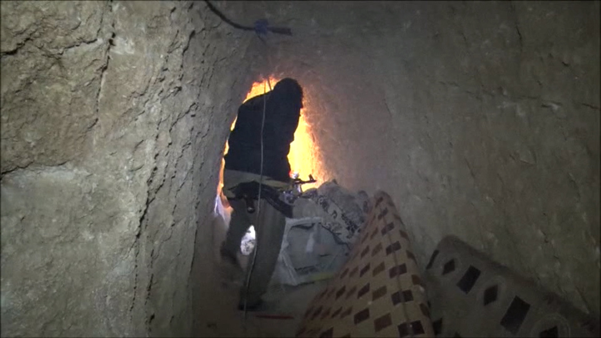 ISIS Dug Network of Tunnels Under Conquered Iraqi City of Sinjar