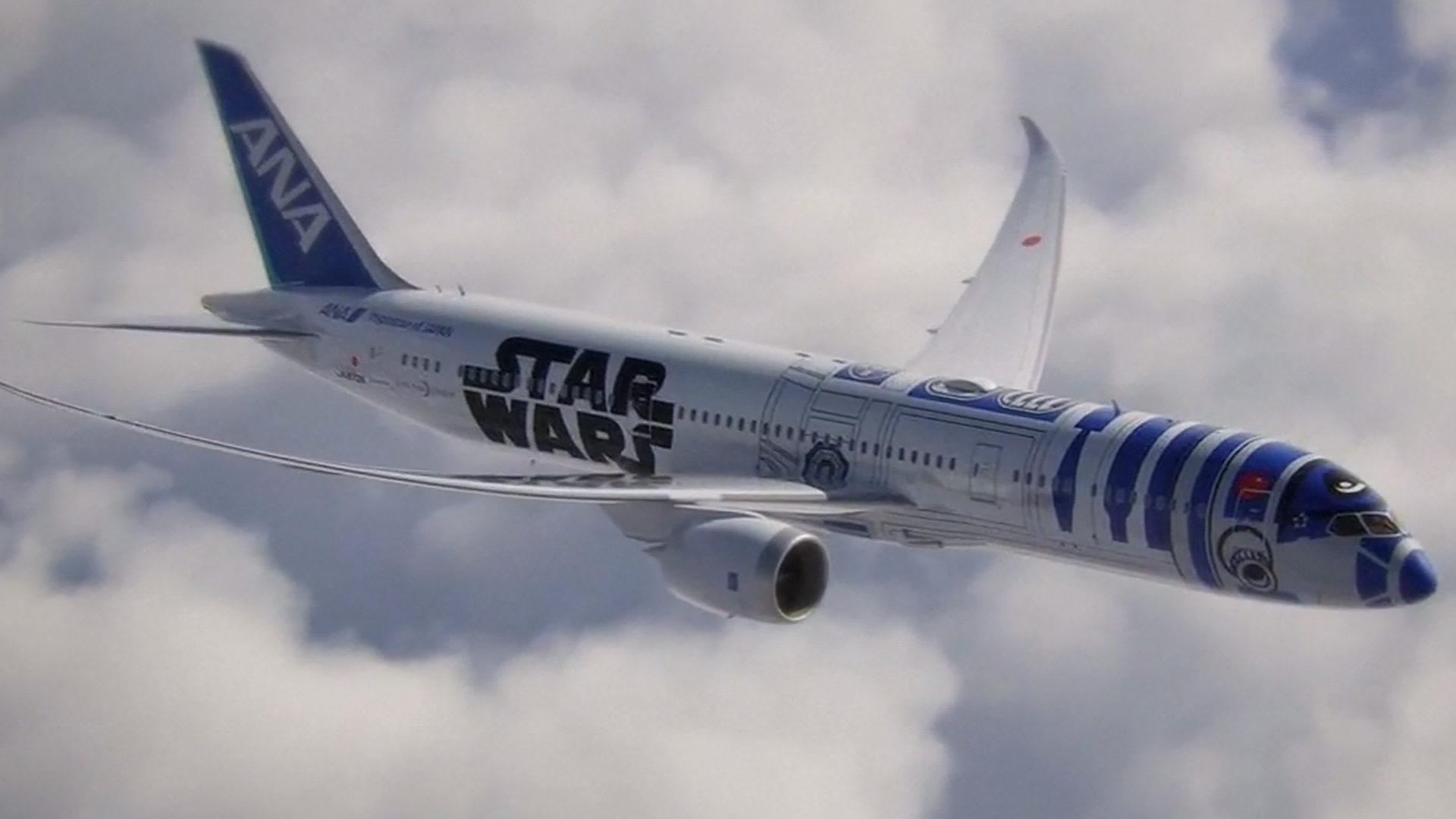 Design For Star Wars Themed Jet Unveiled By Japanese Airline