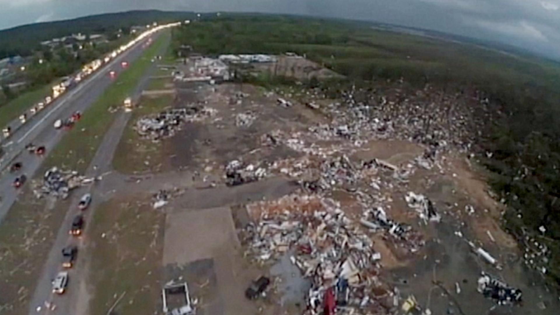 Tornado Survivor In Mayflower Ark Describes Terror
