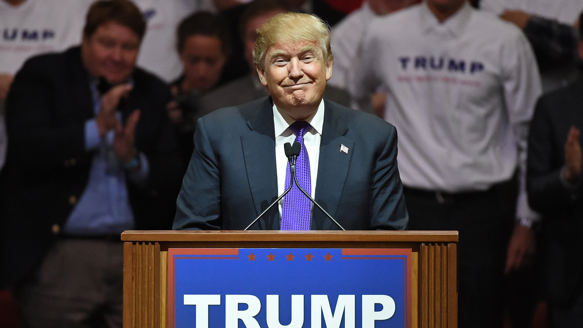 Donald Trump on Nevada Protester: 'I'd Like to Punch Him'