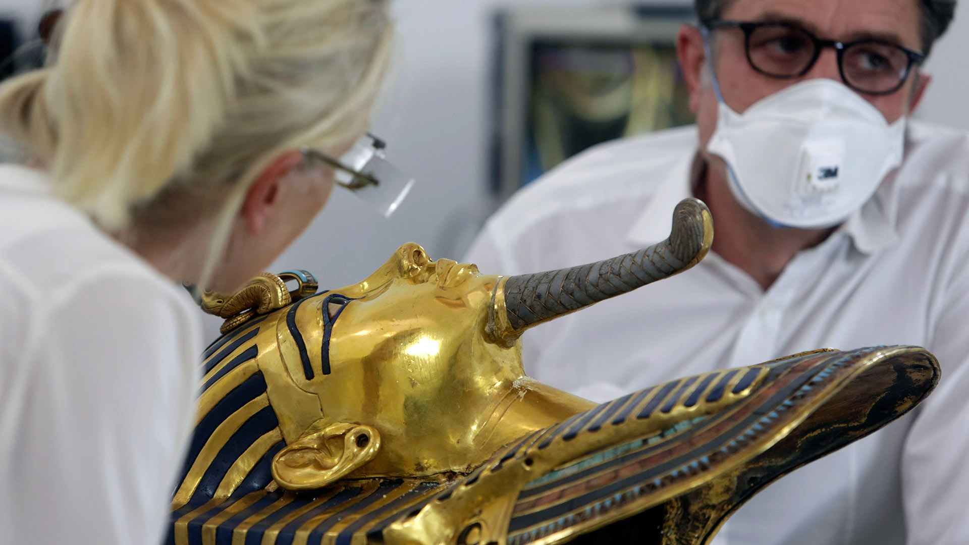Efforts Underway to Restore King Tut's Mask After Botched Epoxy Job