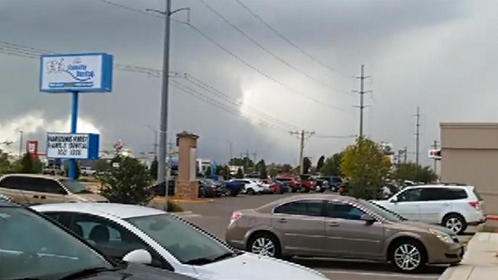 Hail Storms Thrash El Paso, Texas - NBC News