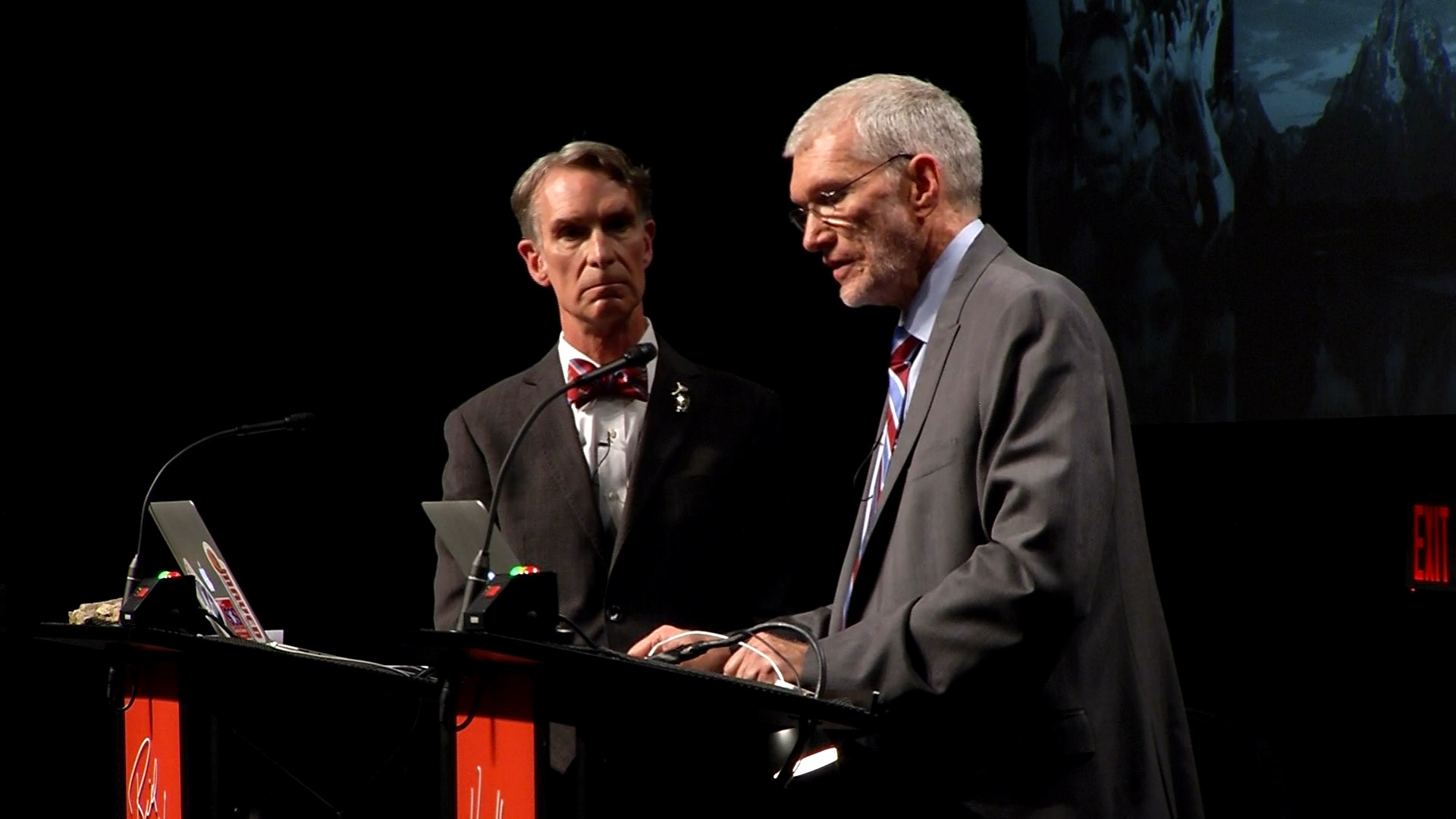 Image result for ken ham and bill nye