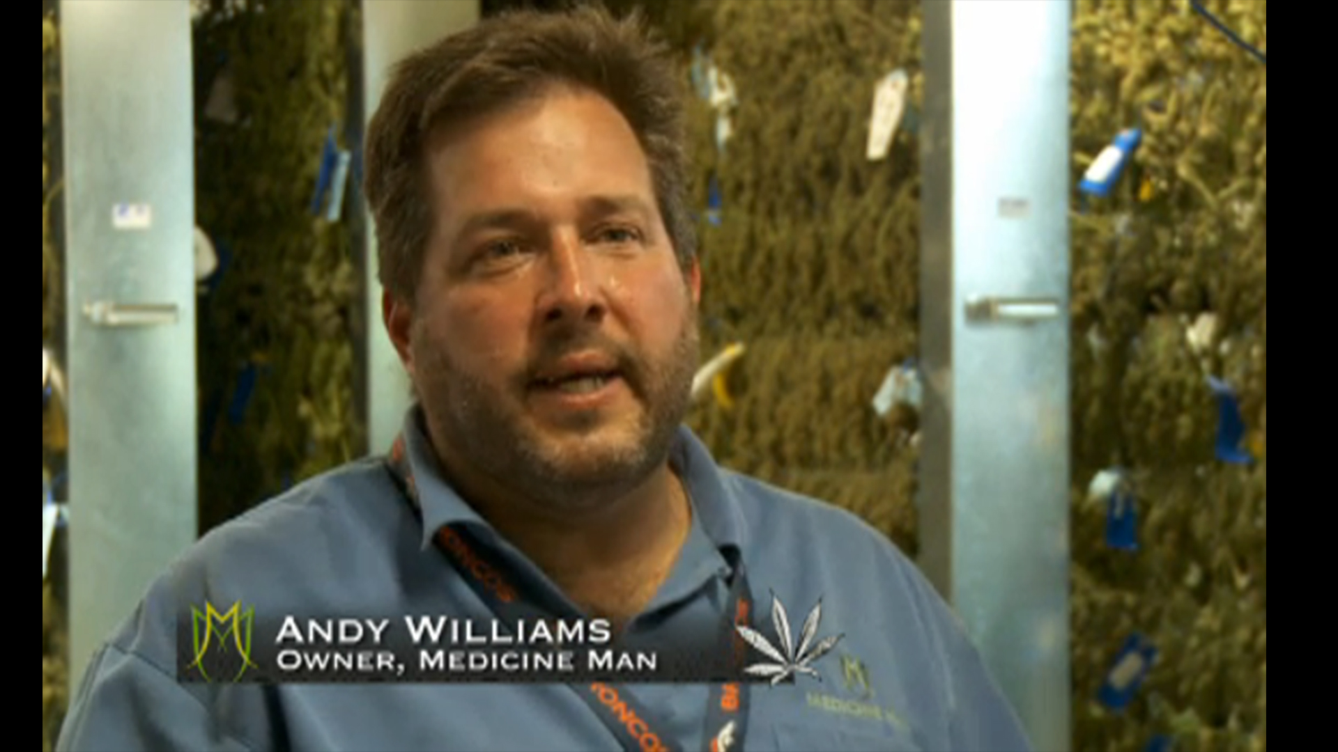 Pot Barons Bio: Medicine Man – Andy Williams