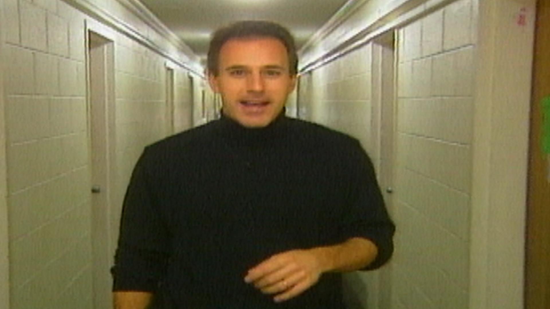 Ohio University Matt Lauer >> Flashback! Matt Lauer goes back to college - TODAY.com