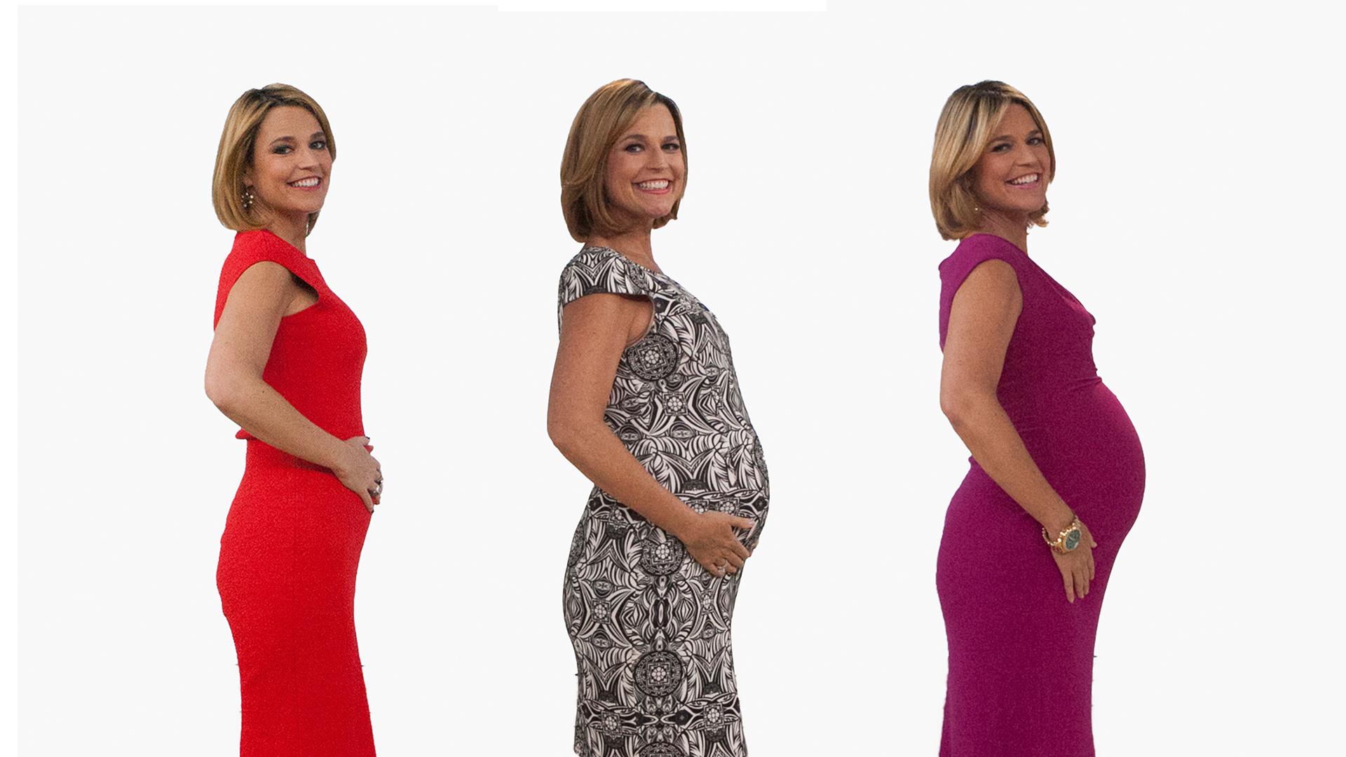 Savannah Guthrie reveals she's pregnant ...