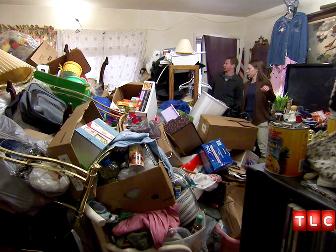 how to clean mild hoarder