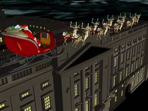 Santa completes European leg of his journey