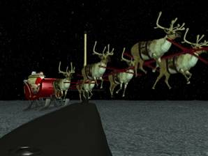 Santa refuels in the Mid-Atlantic