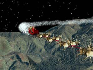 Santa stuns South American scientists