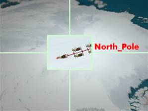 Santa departs the North Pole