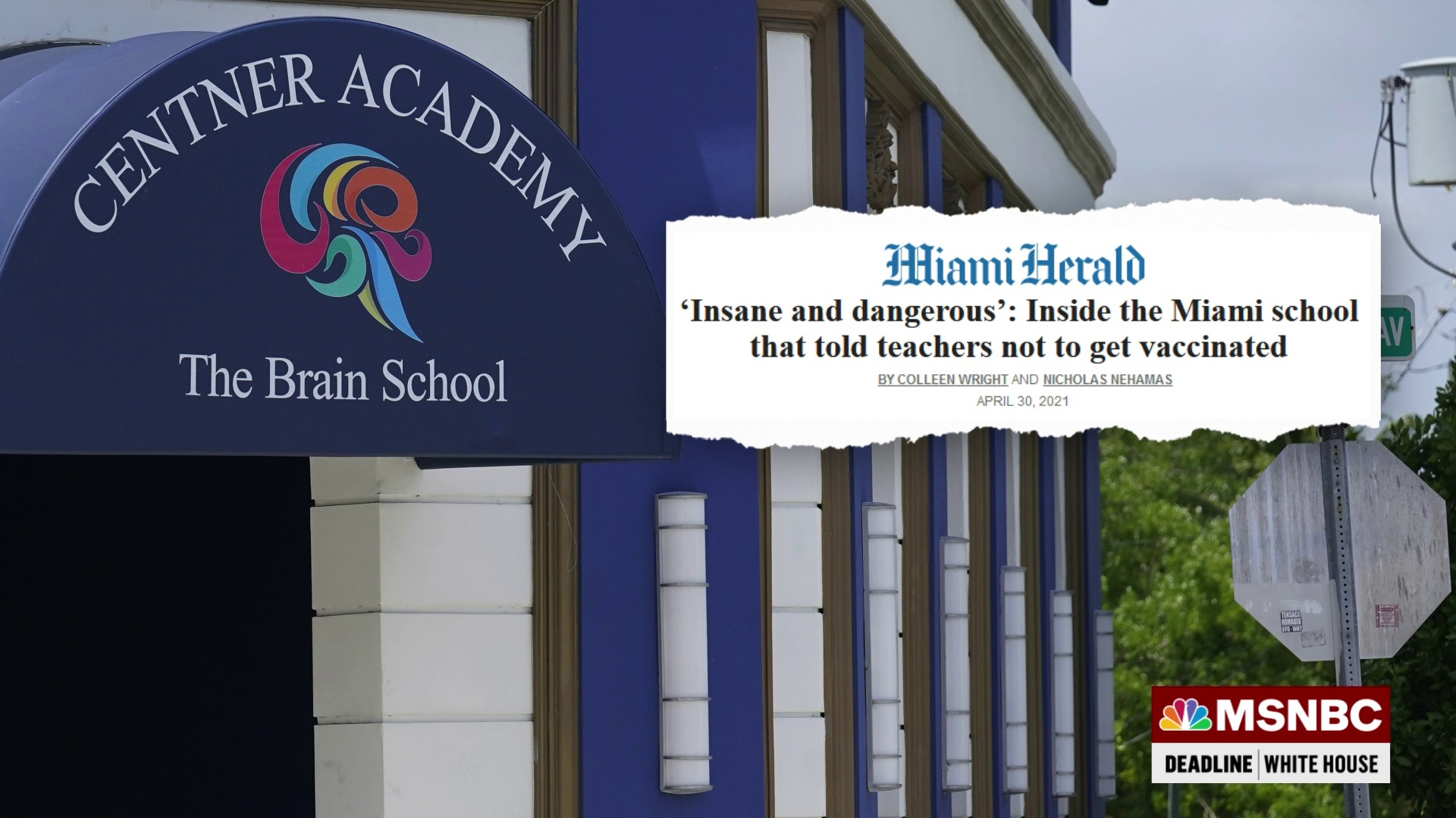 One Miami school has become a 'beacon for anti-vaxxers' thumbnail
