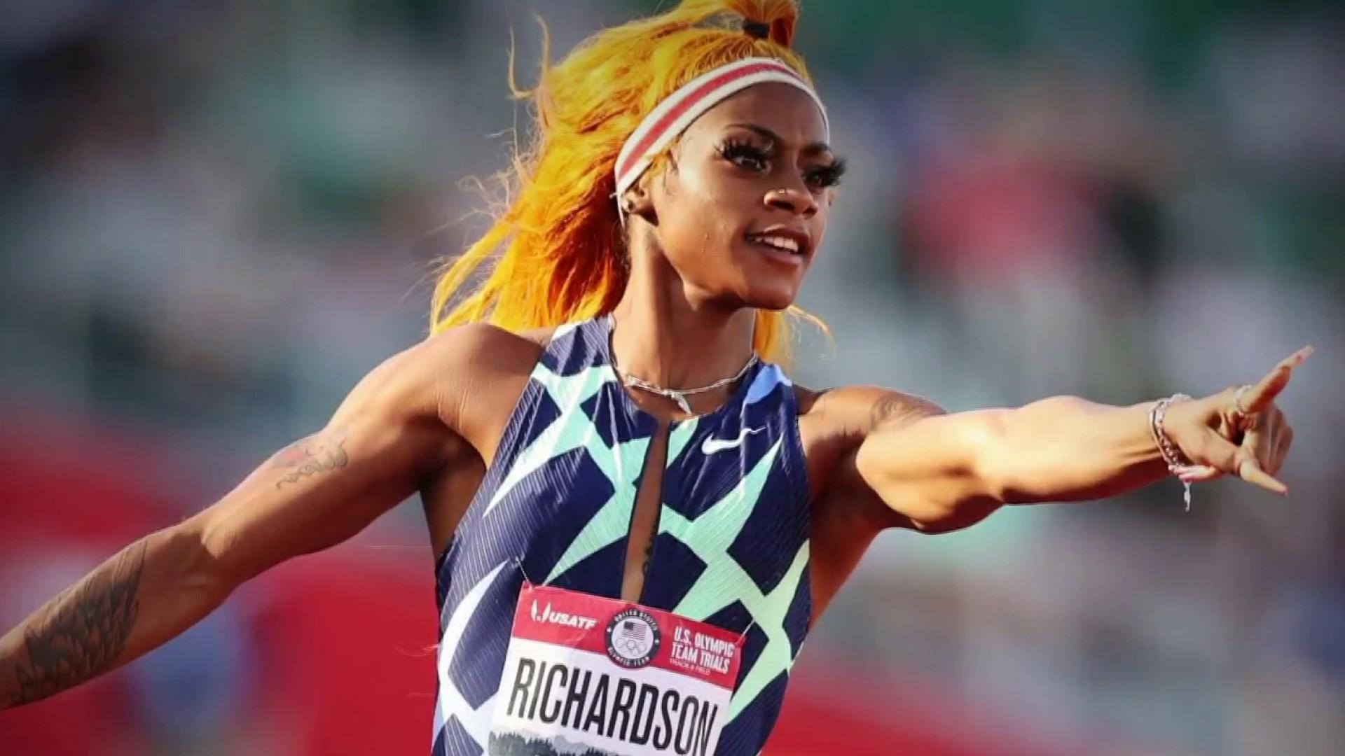 U.S. Track Star Sha'Carri Richardson Speaks Out After Suspension