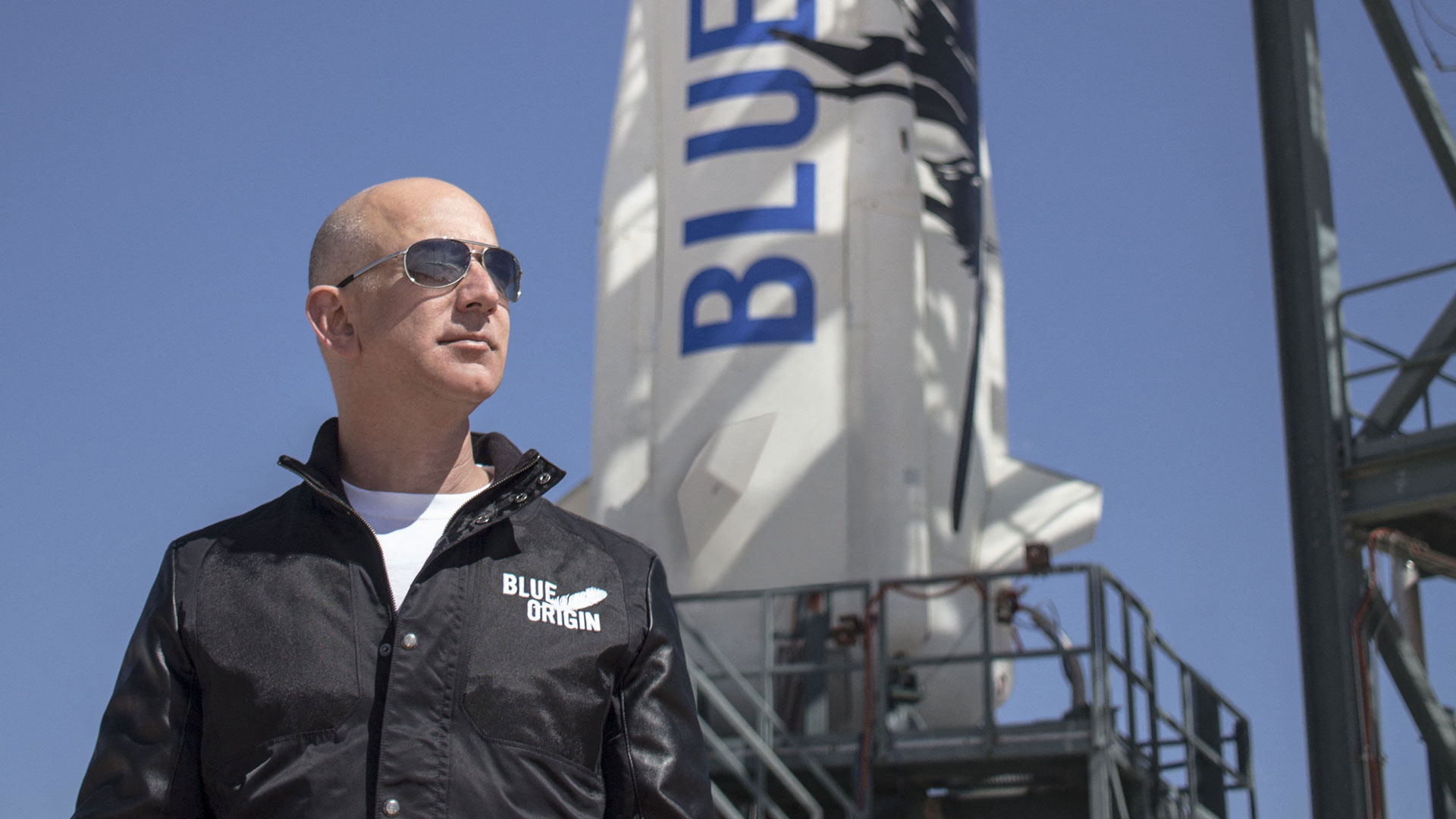 Watch live: Jeff Bezos travels to space with Blue Origin launch