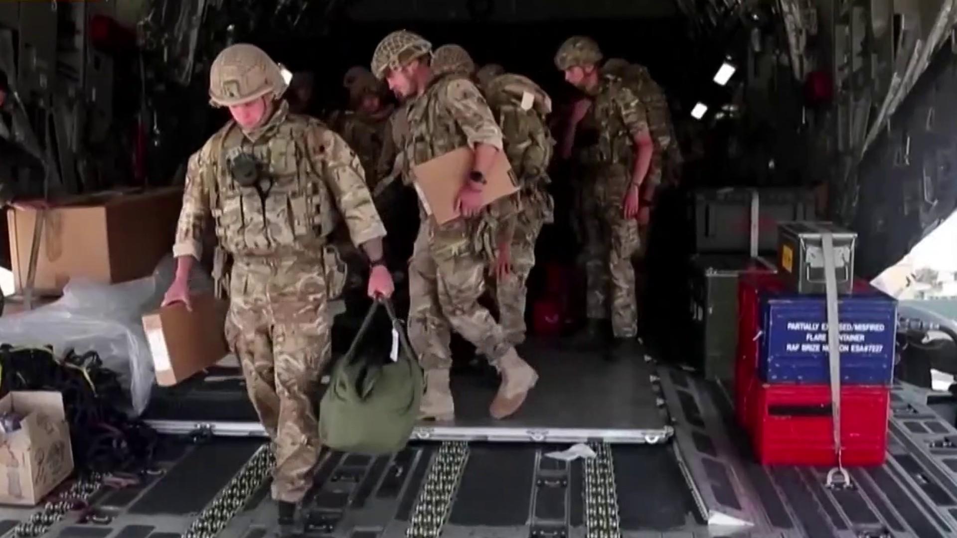 U.S. allies evacuate embassy staff in Afghanistan as Taliban gains control of Kabul