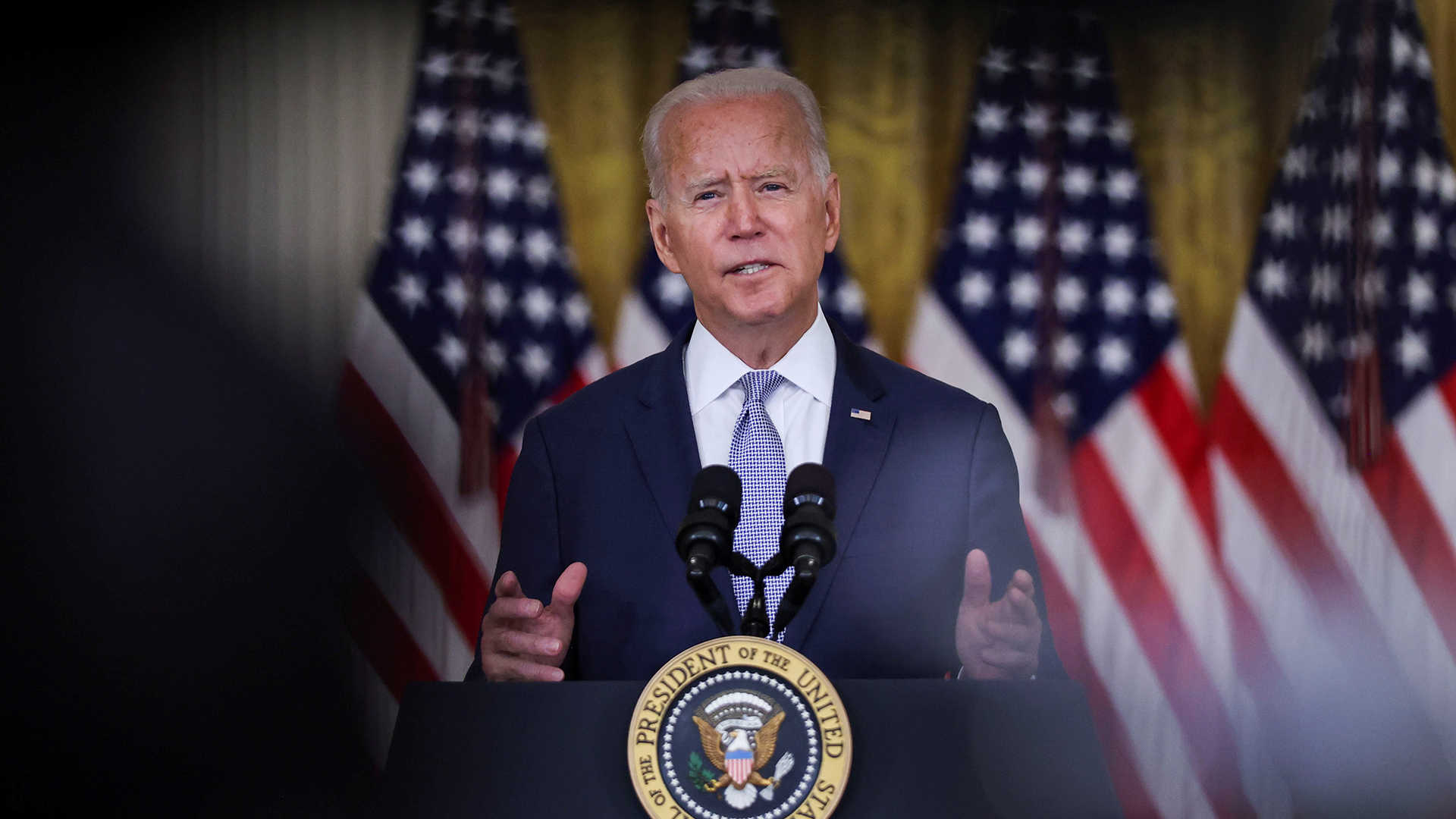 Watch live: Biden delivers remarks on Afghanistan crisis as Taliban regains control