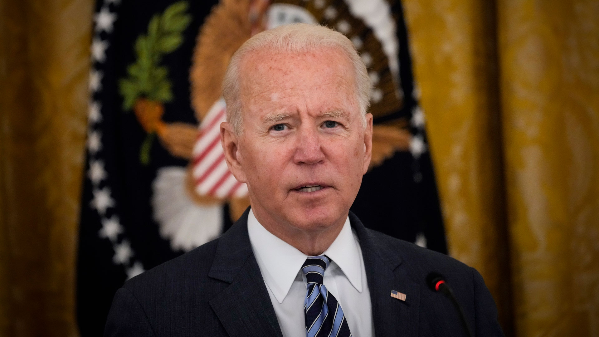 Watch live: Biden gives update following two explosions outside Kabul airport