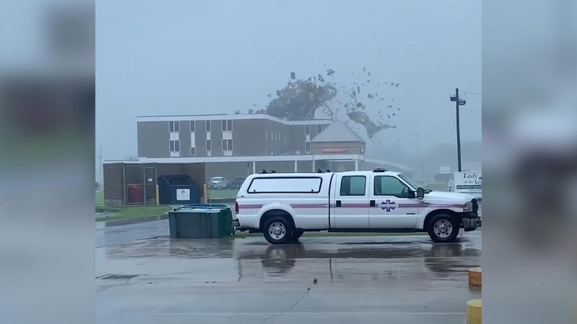 Watch: Damage scenes across Louisiana after Hurricane Ida makes landfall